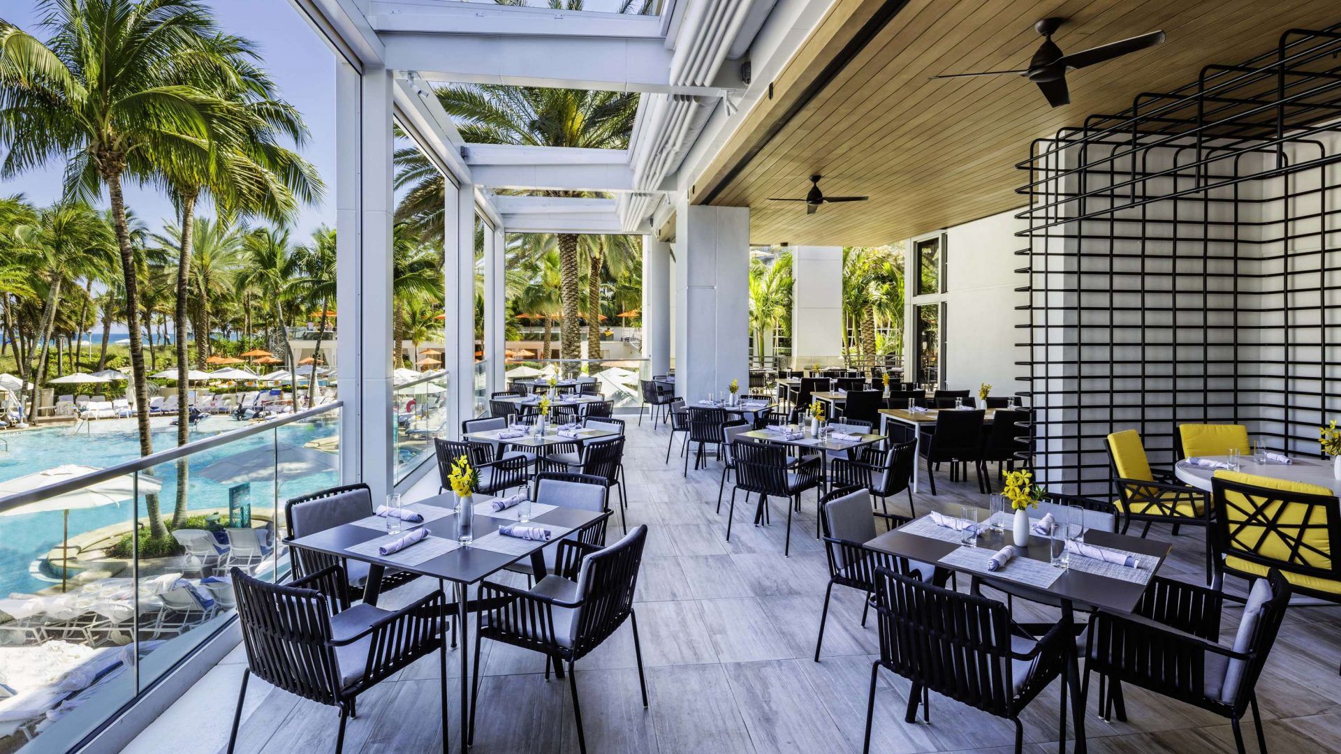 Preston's Terrace | Loews Miami Beach Hotel