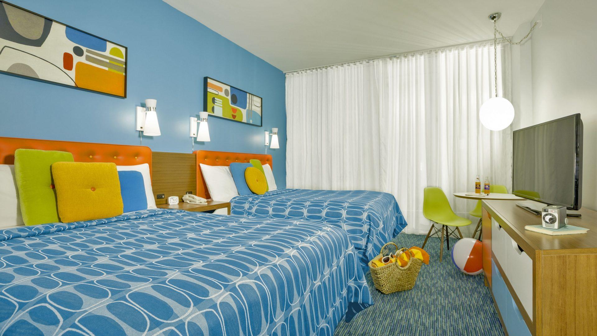 rooms cabana bay beach resort hotels near universal. Black Bedroom Furniture Sets. Home Design Ideas