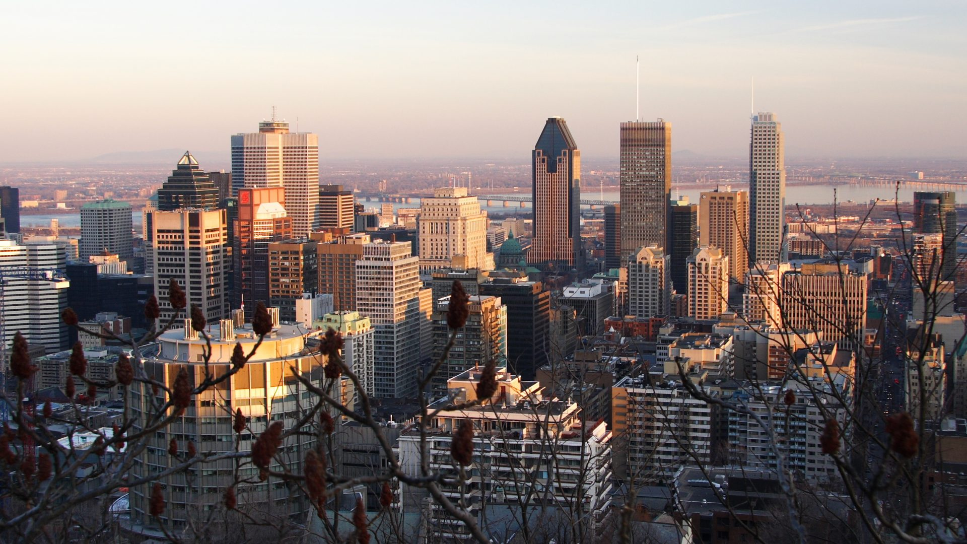 Montreal Skyline Winter | Loews Hotel Vogue