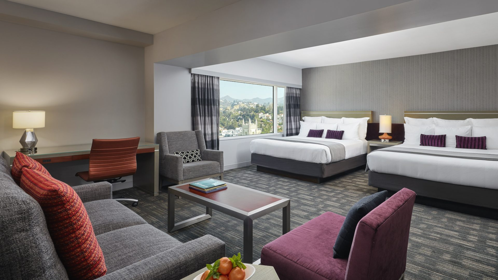 Studio Two King Suite | Loews Hollywood Hotel