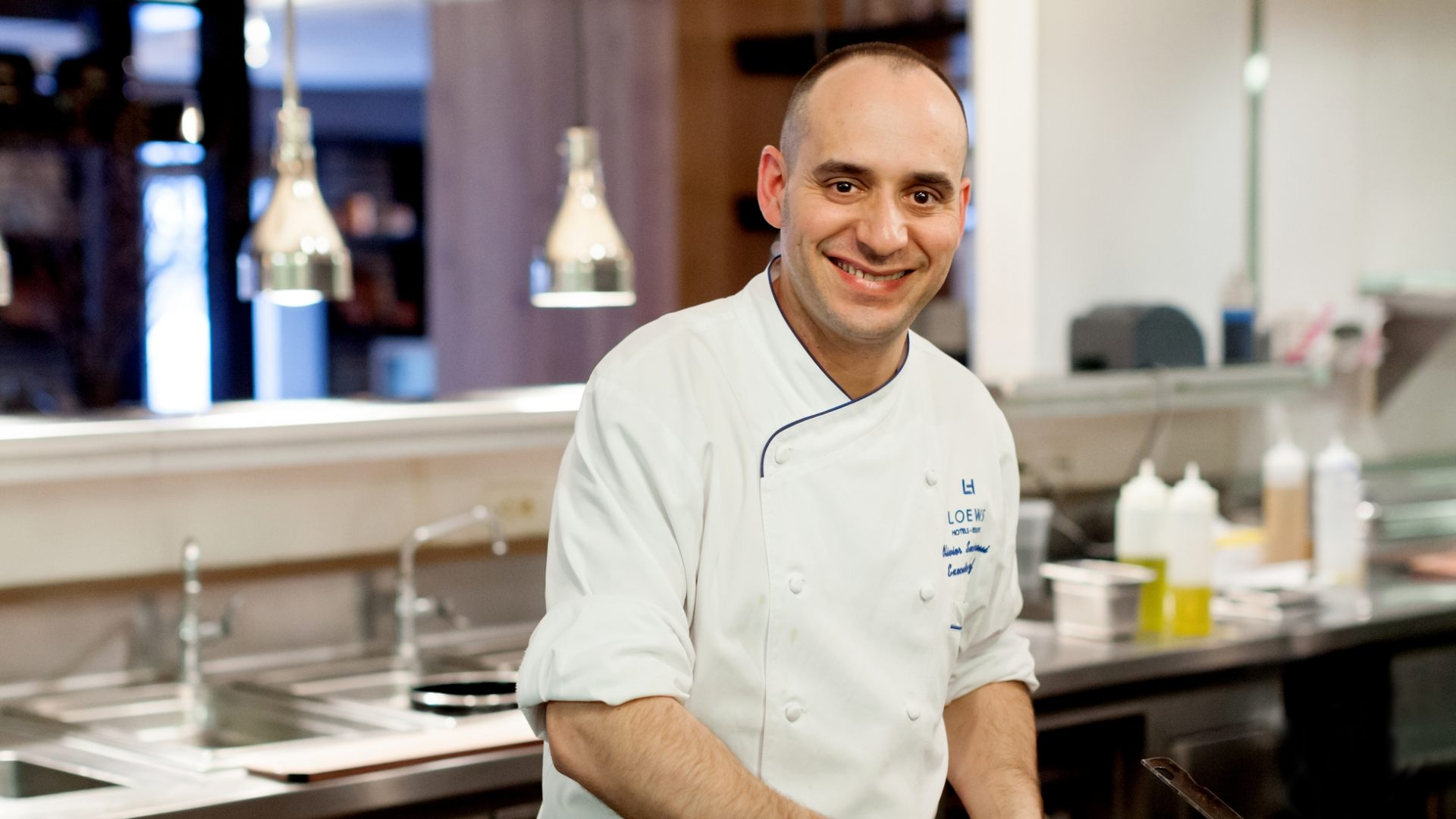 Executive Chef Olivier Senoussaoui Precinct Kitchen Bar Loews Boston Hotel