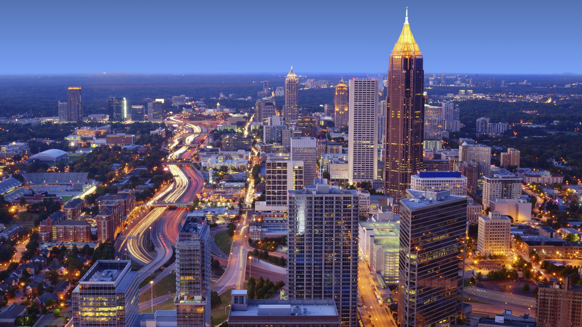 Midtown Atlanta Skyline | Loews Atlanta Hotel