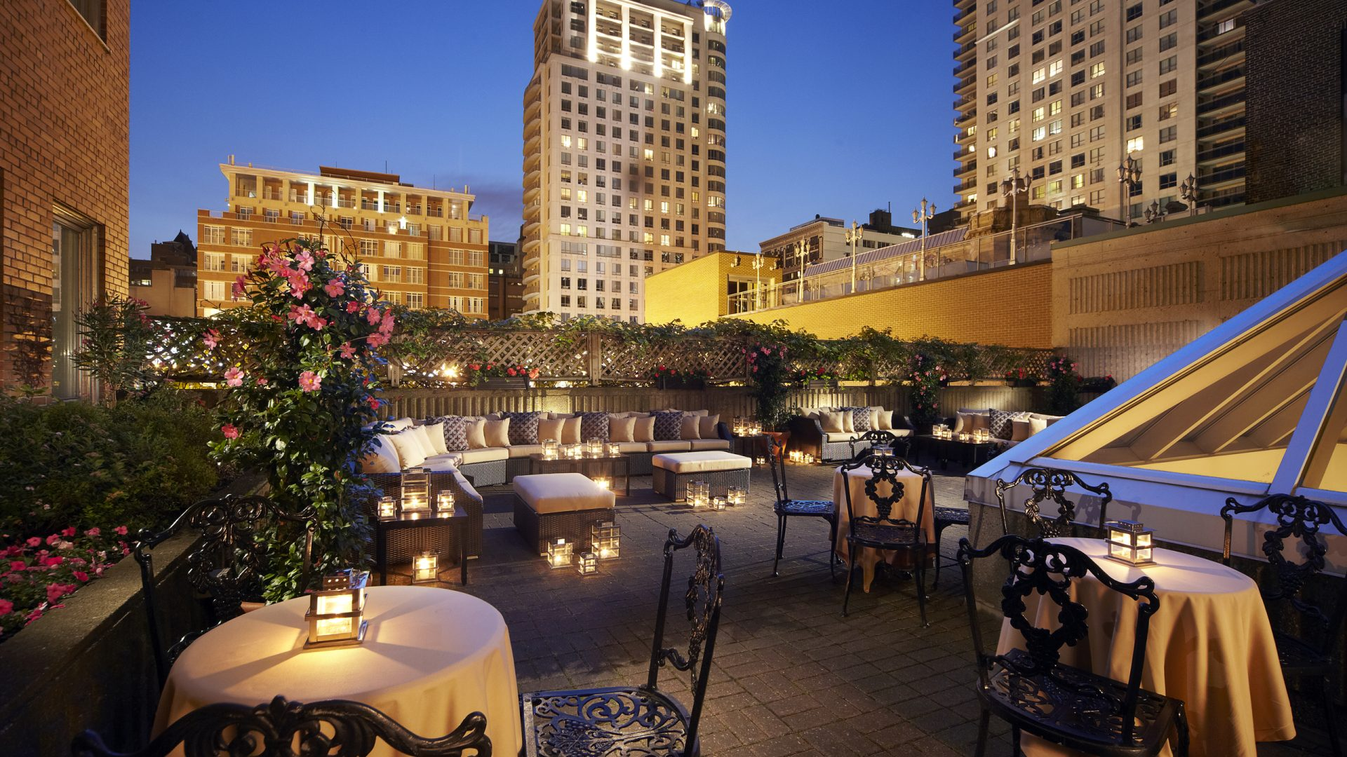 Terrace | Montreal Meetings & Events | Loews Hotel Vogue