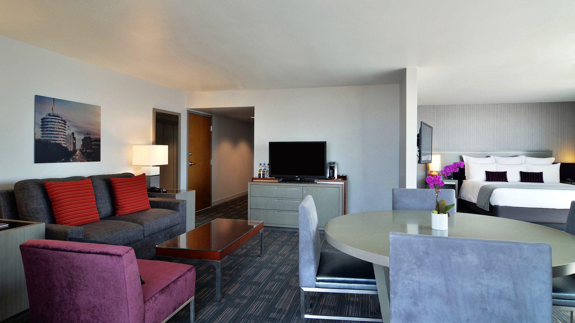 Hotel Suites In Hollywood Loews Hollywood Hotel