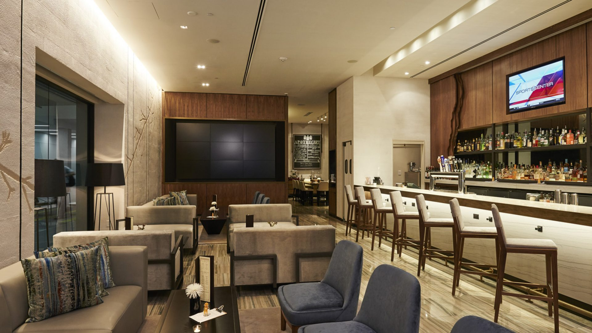 Apothecary Bar & Lounge | Dining | Loews Minneapolis Hotel