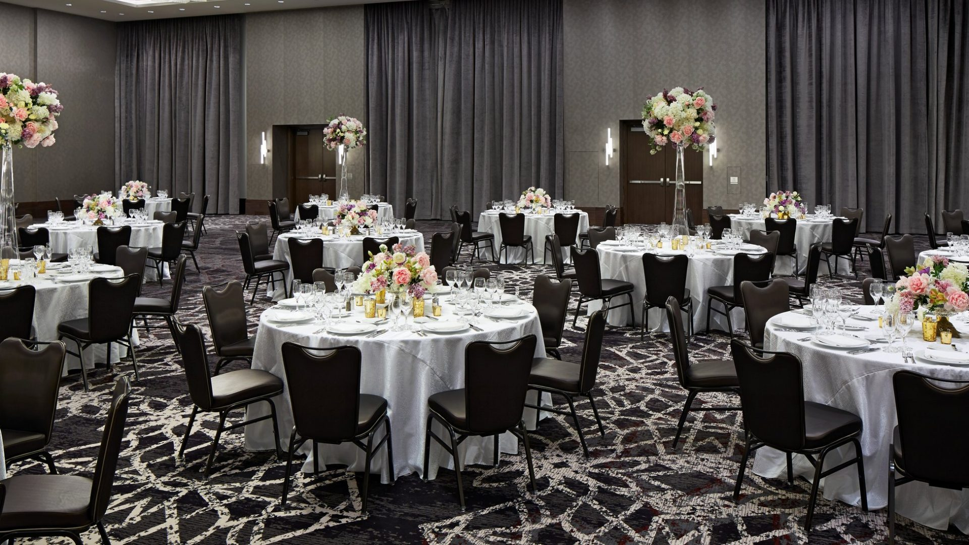 Wright Ballroom - Wedding Set-up | Loews Chicago Hotel