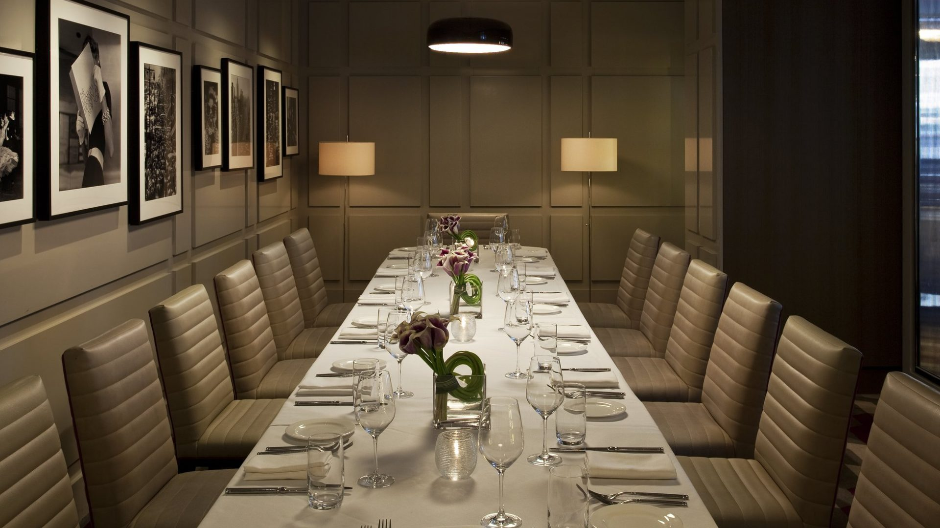 Private Dining Room Evening | Loews Regency New York Hotel