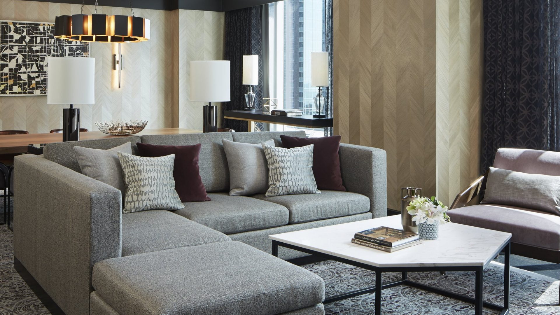 Navy Pier Suite Parlor | Loews Chicago Hotel