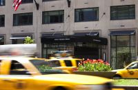 Park Avenue Entrance of Loews Regency Hotel New York City