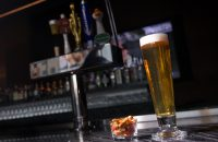 Draft Beer on the Bar | H2 Kitchen & Bar | Loews Hollywood Hotel