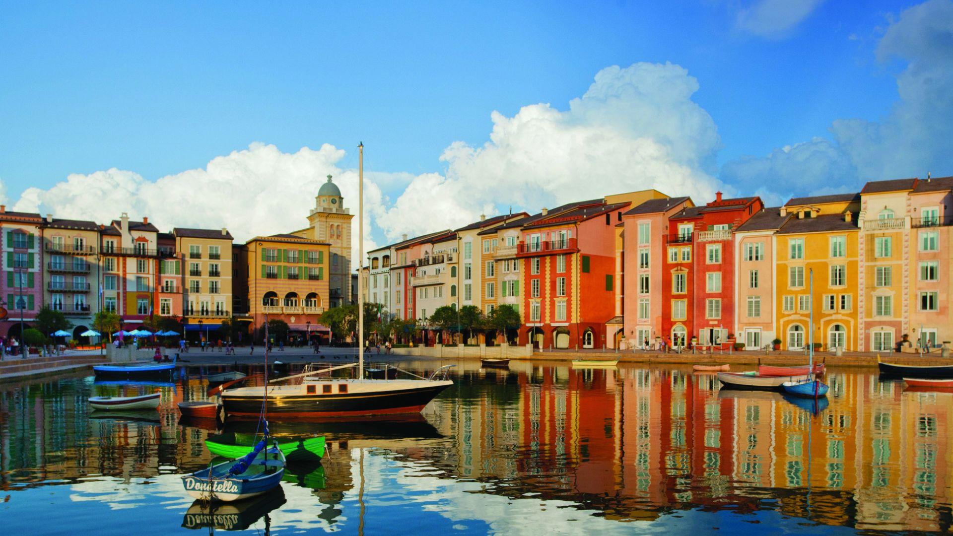 orlando luxury resorts loews portofino bay at universal. Black Bedroom Furniture Sets. Home Design Ideas