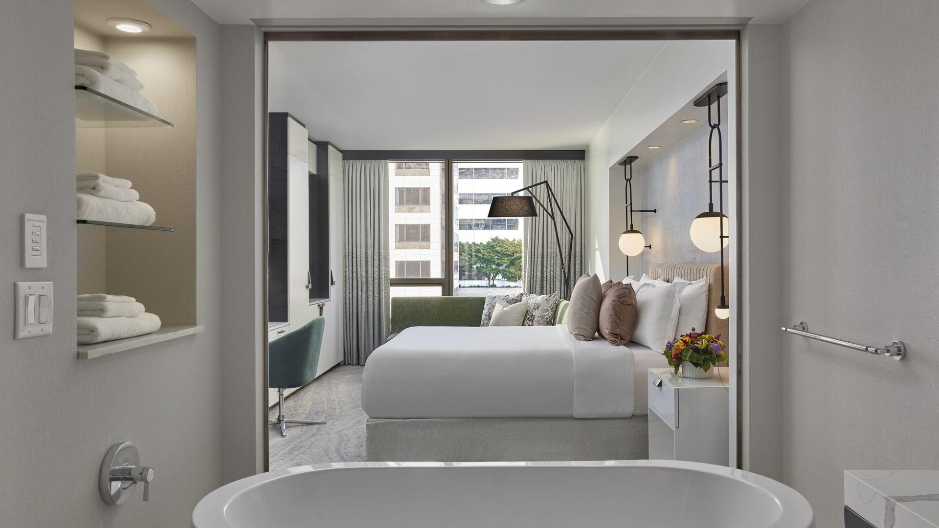 Waterfront Hotel Rooms In Seattle Loews Hotel 1000