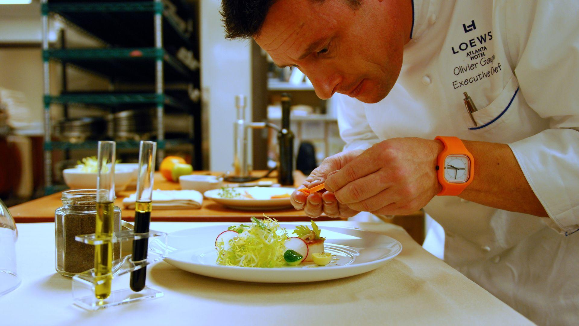 El chef Olivier Gaupin en Saltwood | Loews Atlanta Hotel