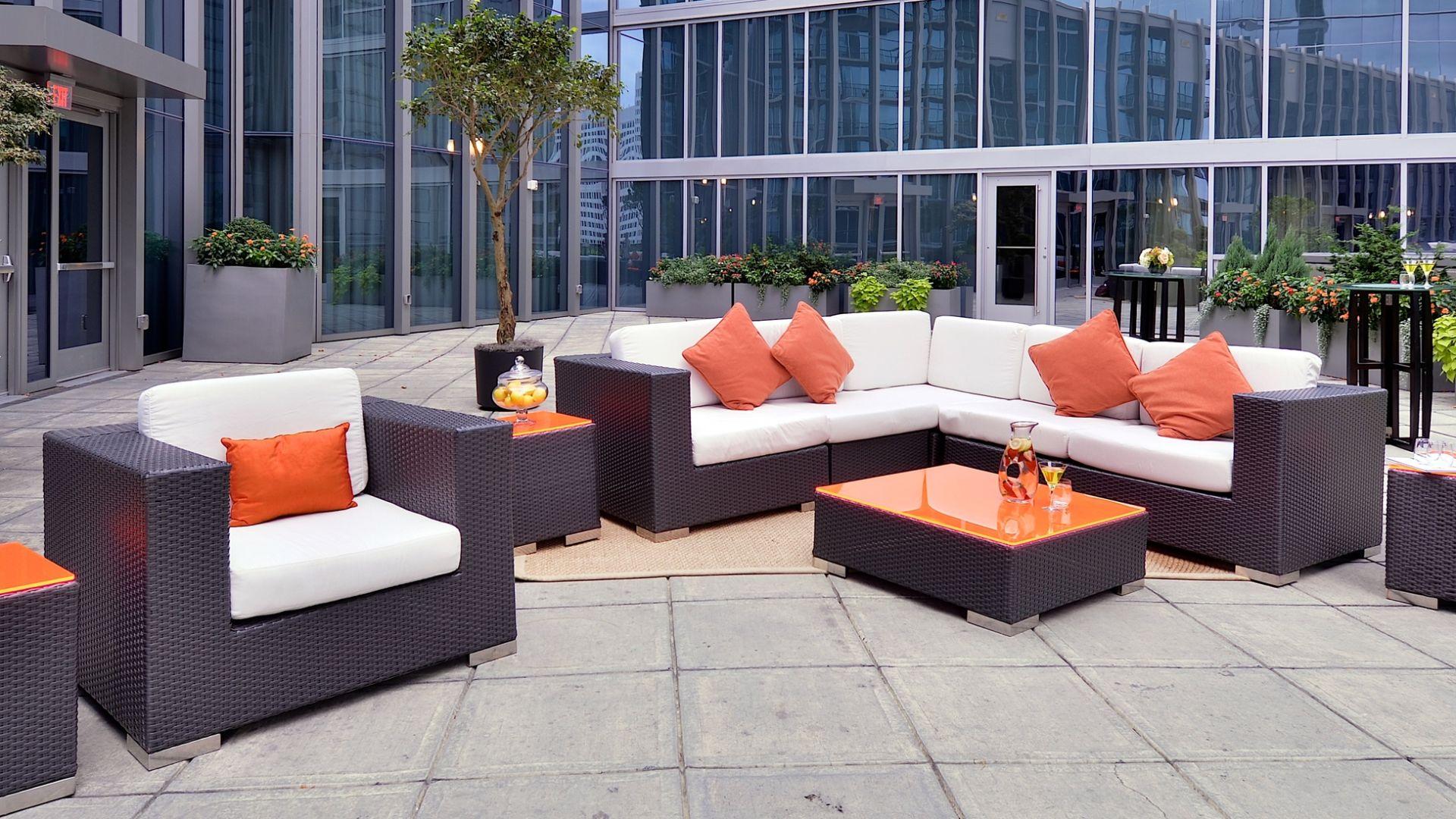 Terrace for Events | Loews Atlanta Hotel