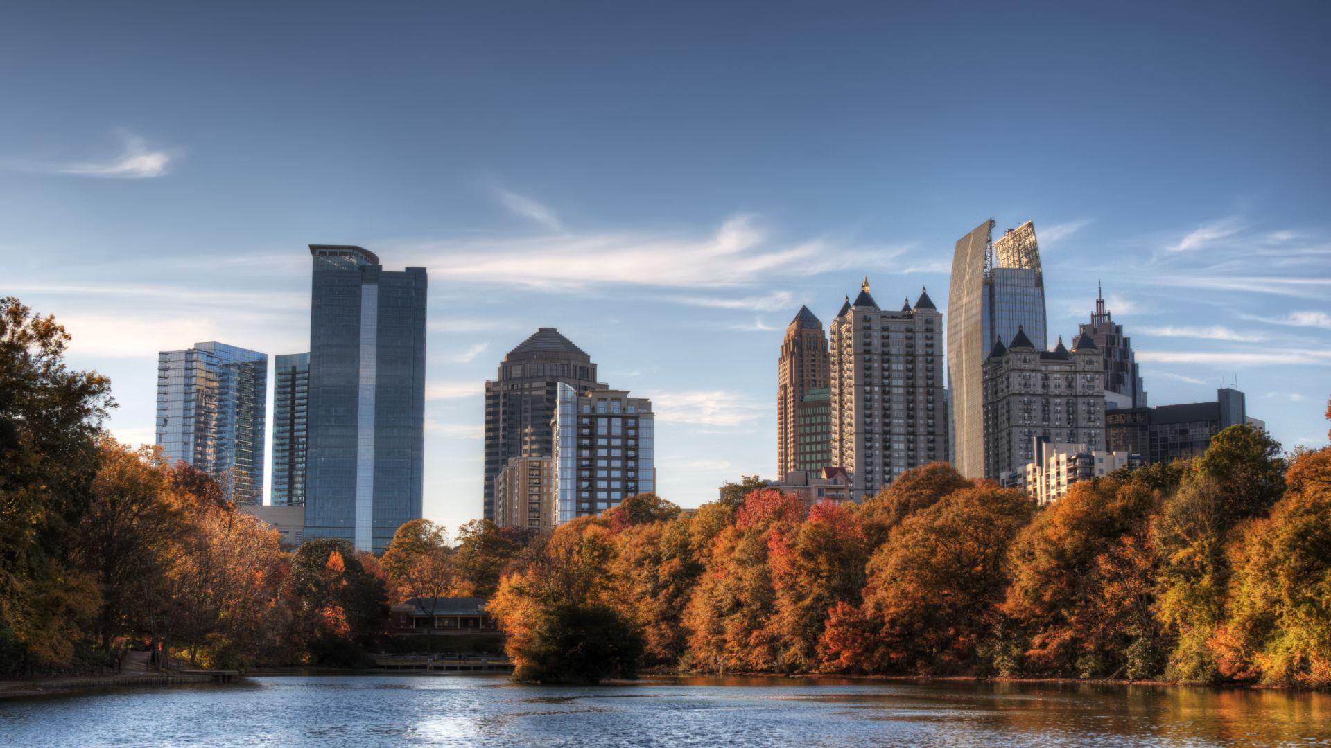 Piedmont Park Atlanta en otoño | Loews Atlanta Hotel