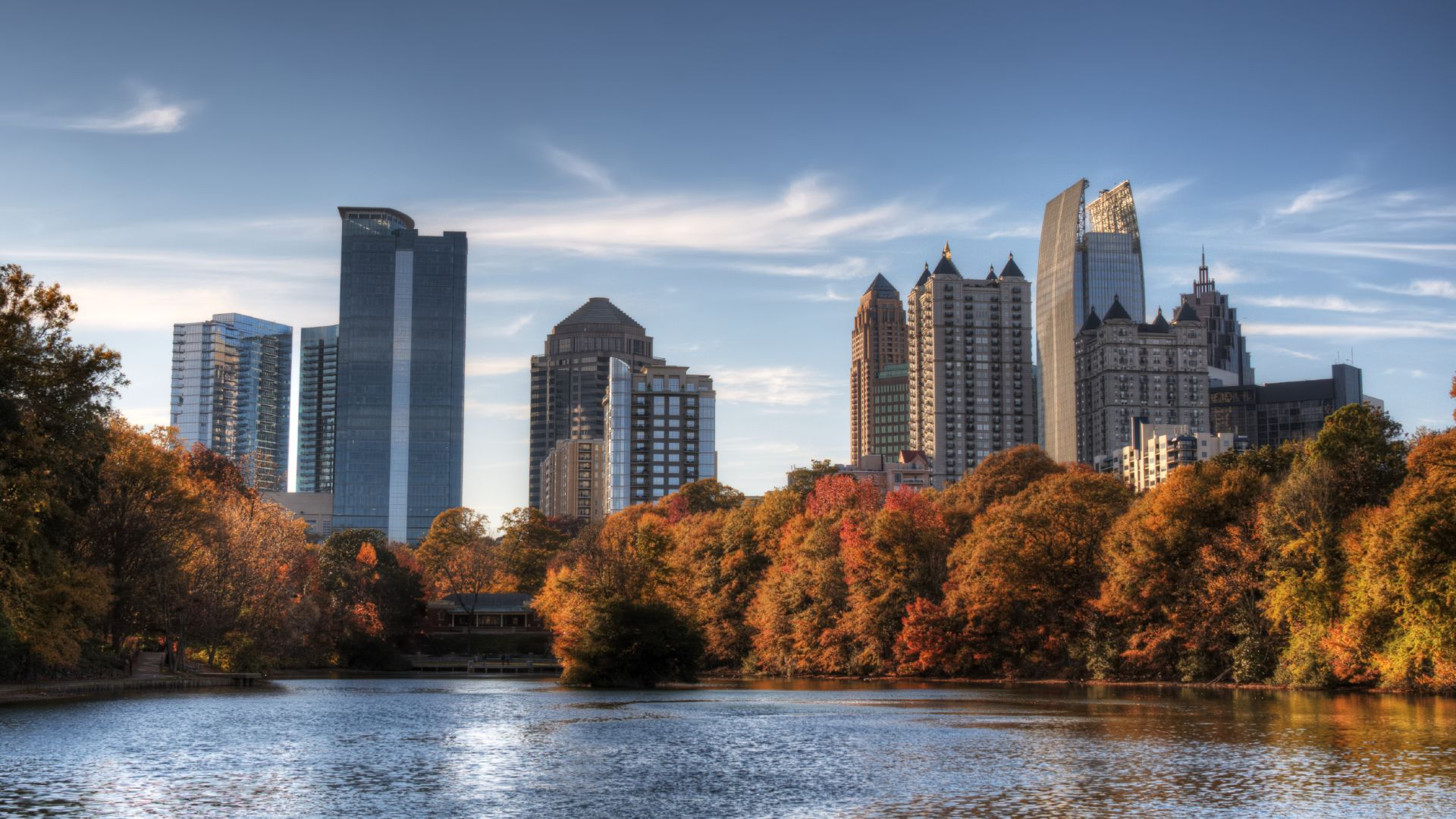 Piedmont Park Atlanta in Fall | Loews Atlanta Hotel