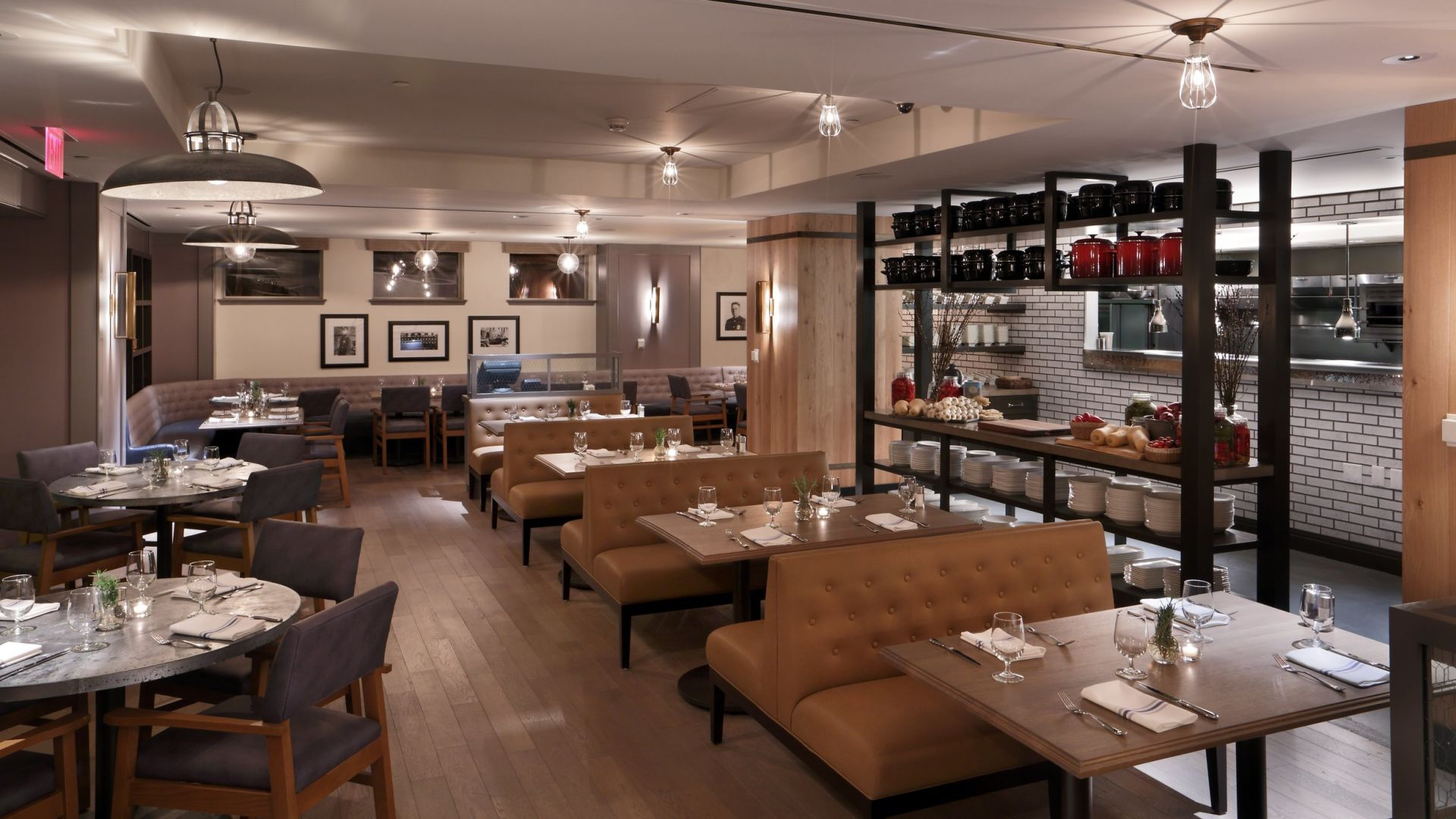 | Precinct Kitchen + Bar | Loews Boston Hotel