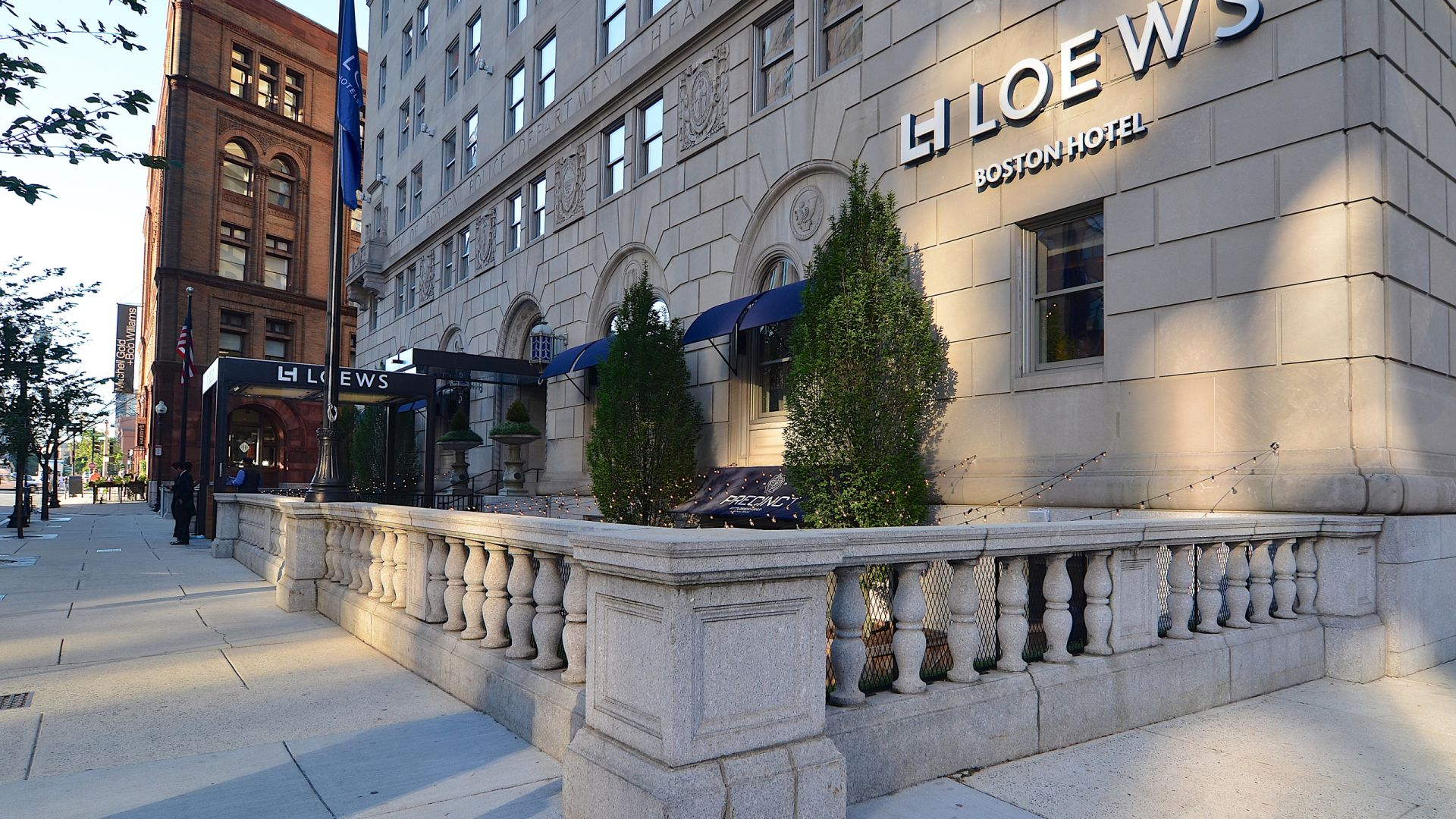 Exterior of Loews Boston Hotel