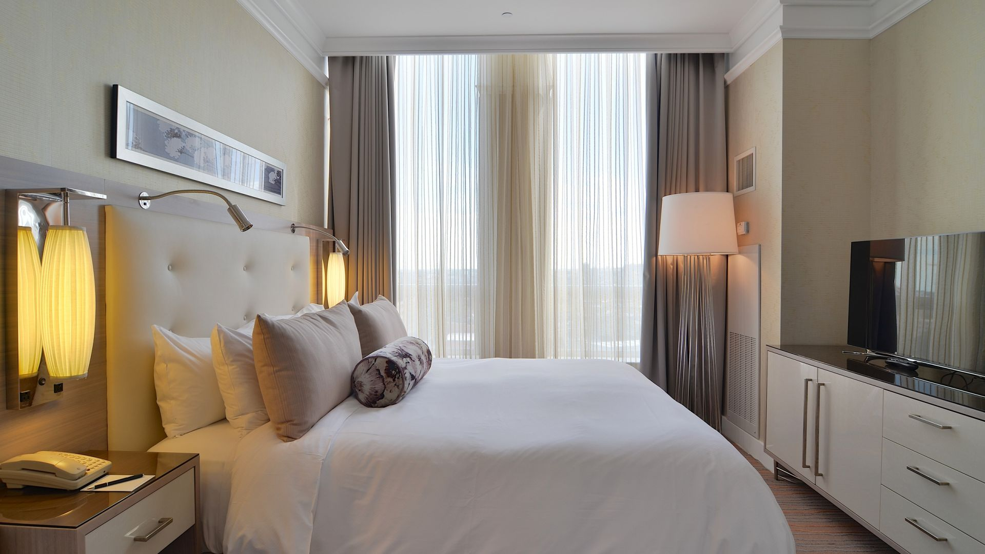 Habitación Suite presidencial | Loews Boston Hotel