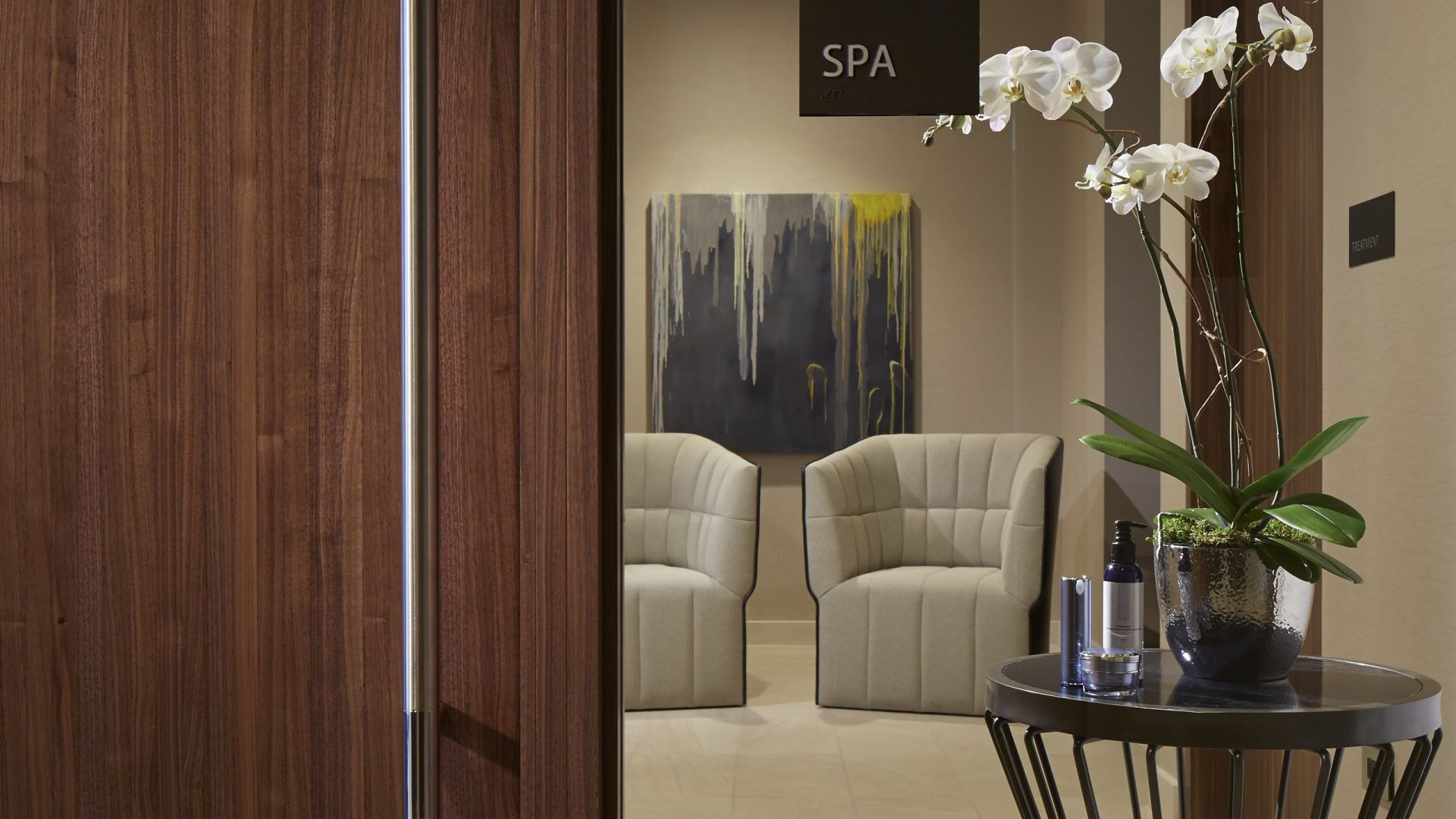 Spa at Loews Chicago Entrance