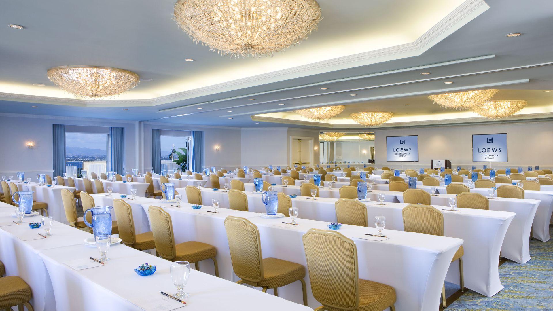San Diego Meeting Rooms Loews Coronado Bay