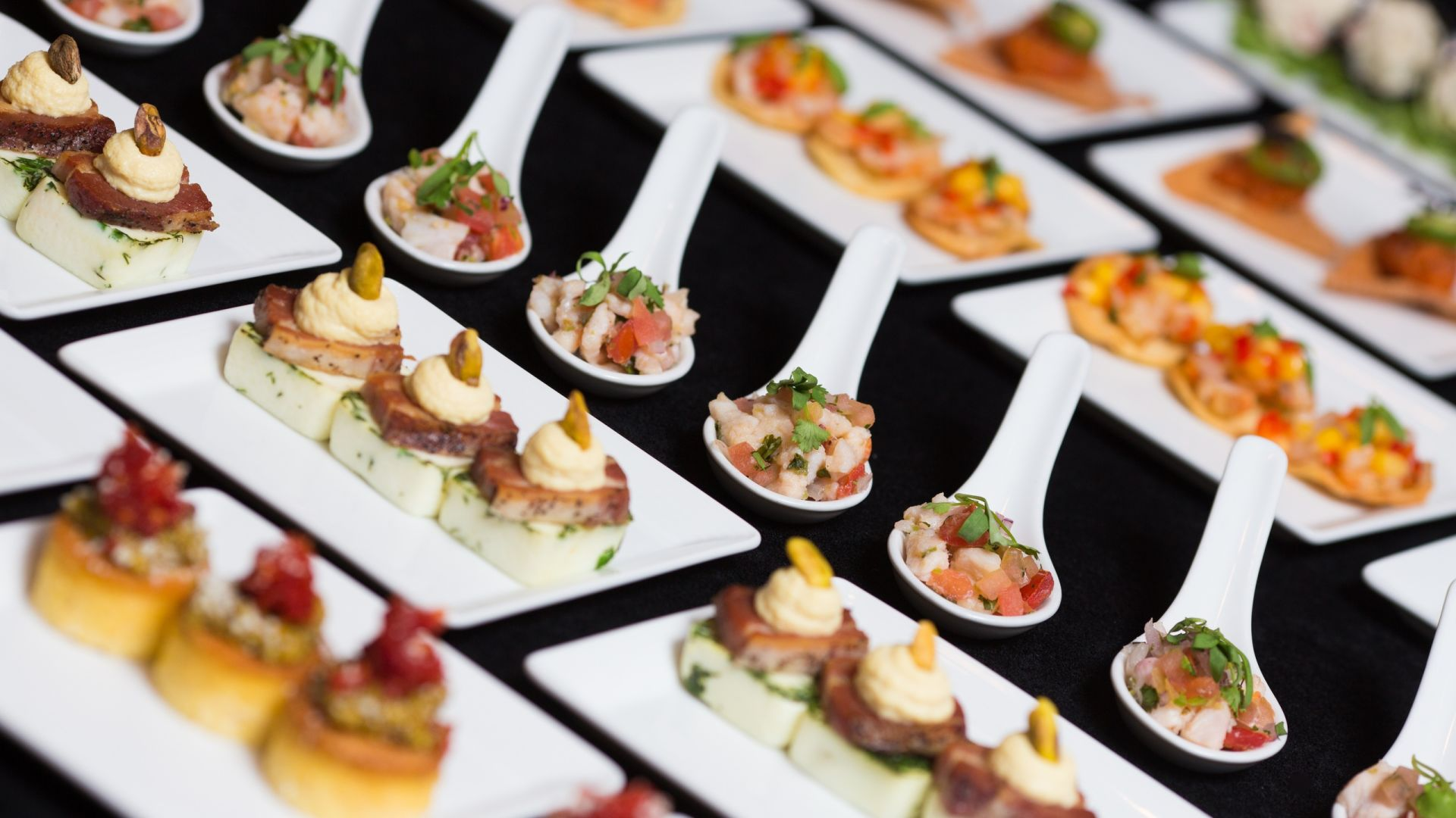 Hors d'Oeuvres | Banquet Reception | Loews Hollywood Hotel