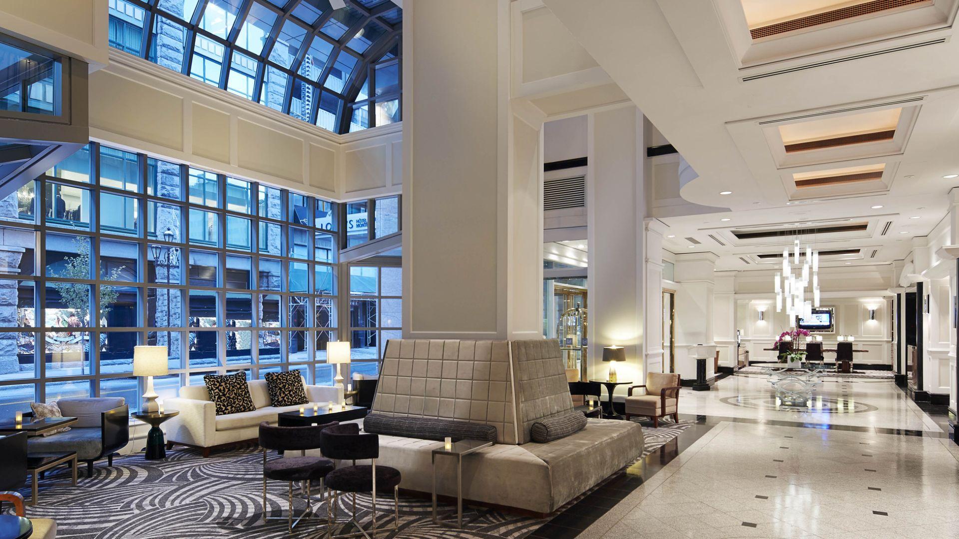 Lobby de Loews Hotel Vogue Montreal