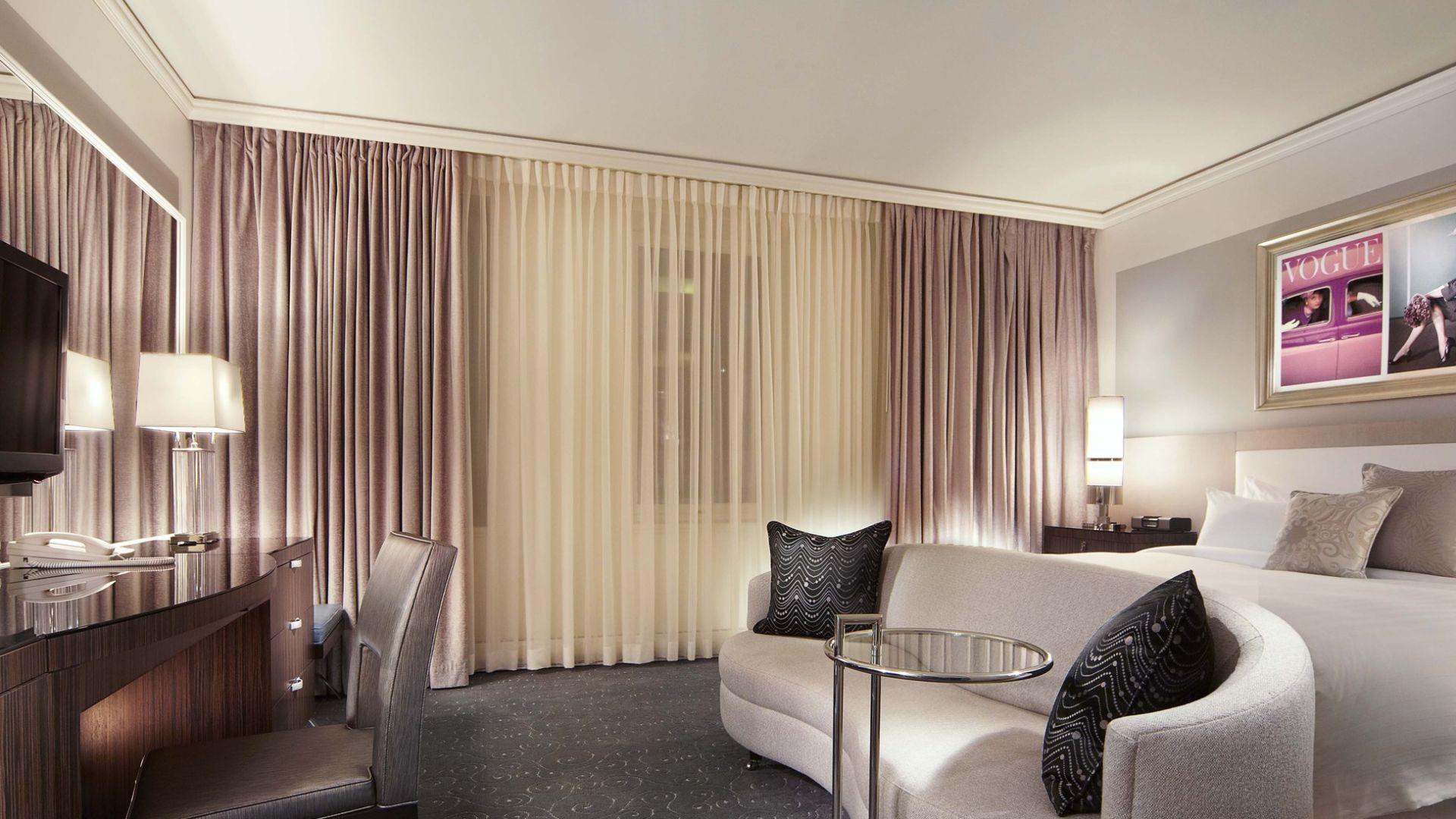 Habitación de huéspedes Premium | Loews Hotel Vogue