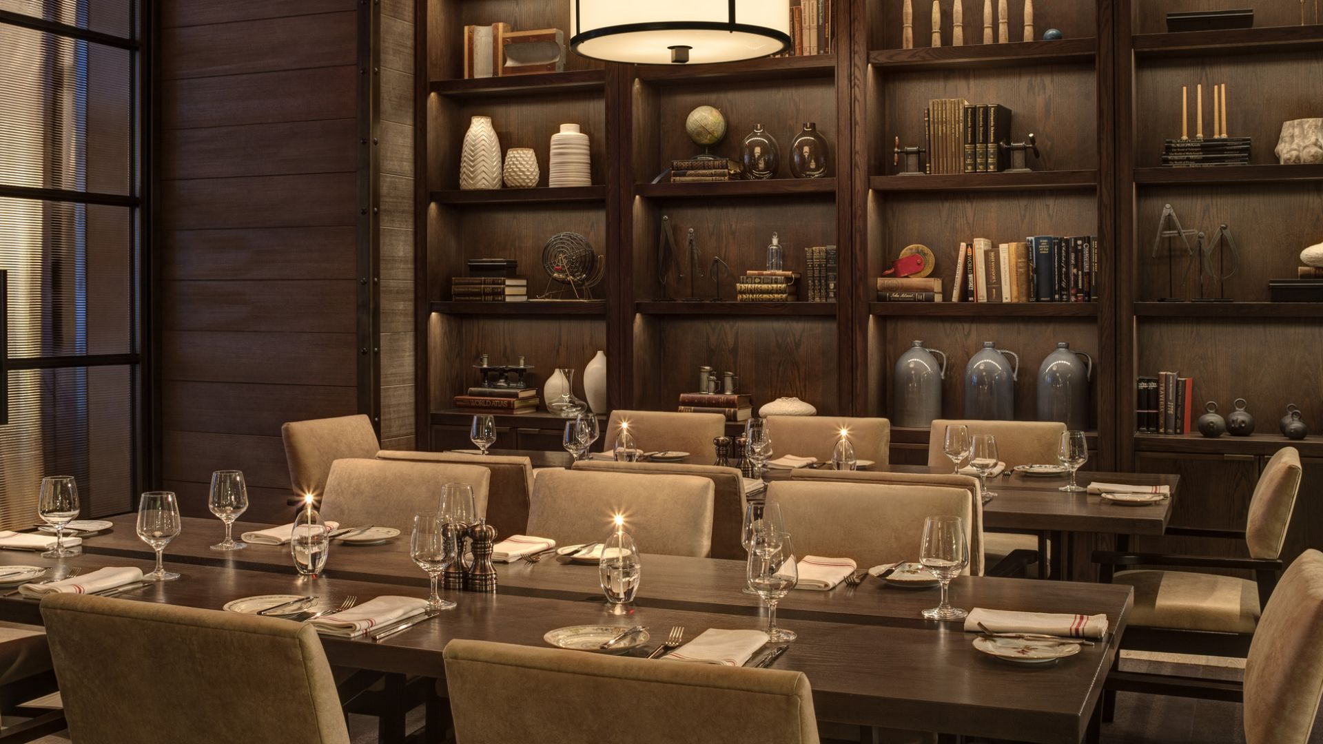 Comedor privado del Bank & Bourbon - Rye | Loews Philadelphia Hotel