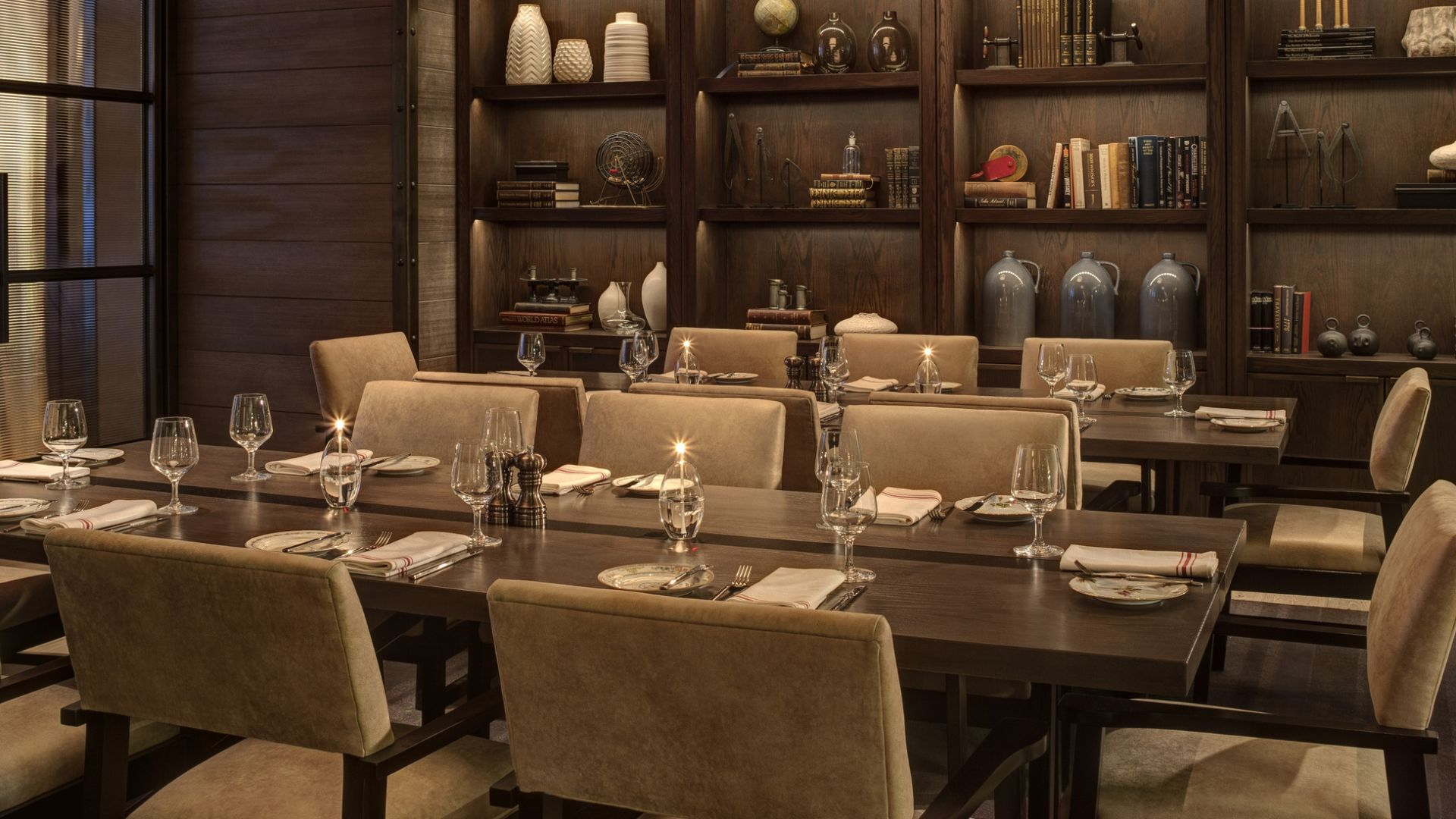 Rooms: Bank & Bourbon Restaurant