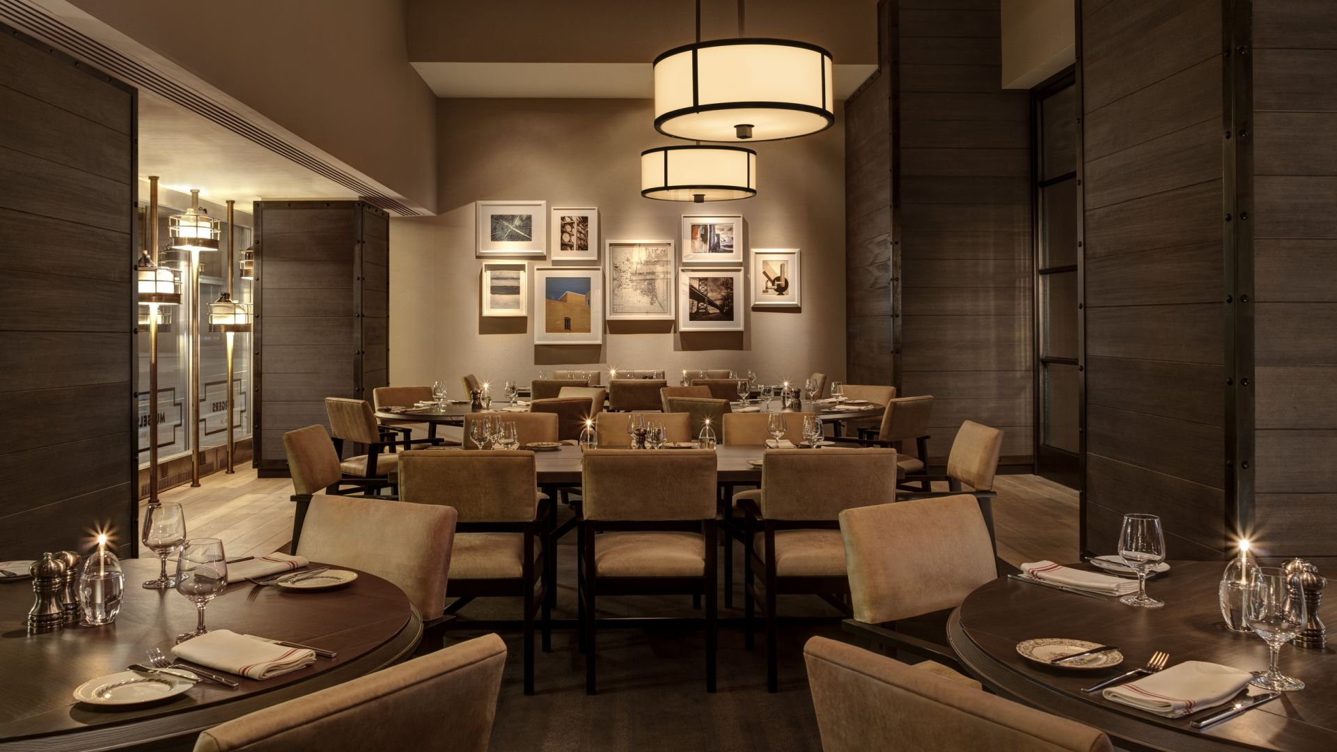 Bank & Bourbon Prviate Dining Room | Loews Philadelphia Hotel