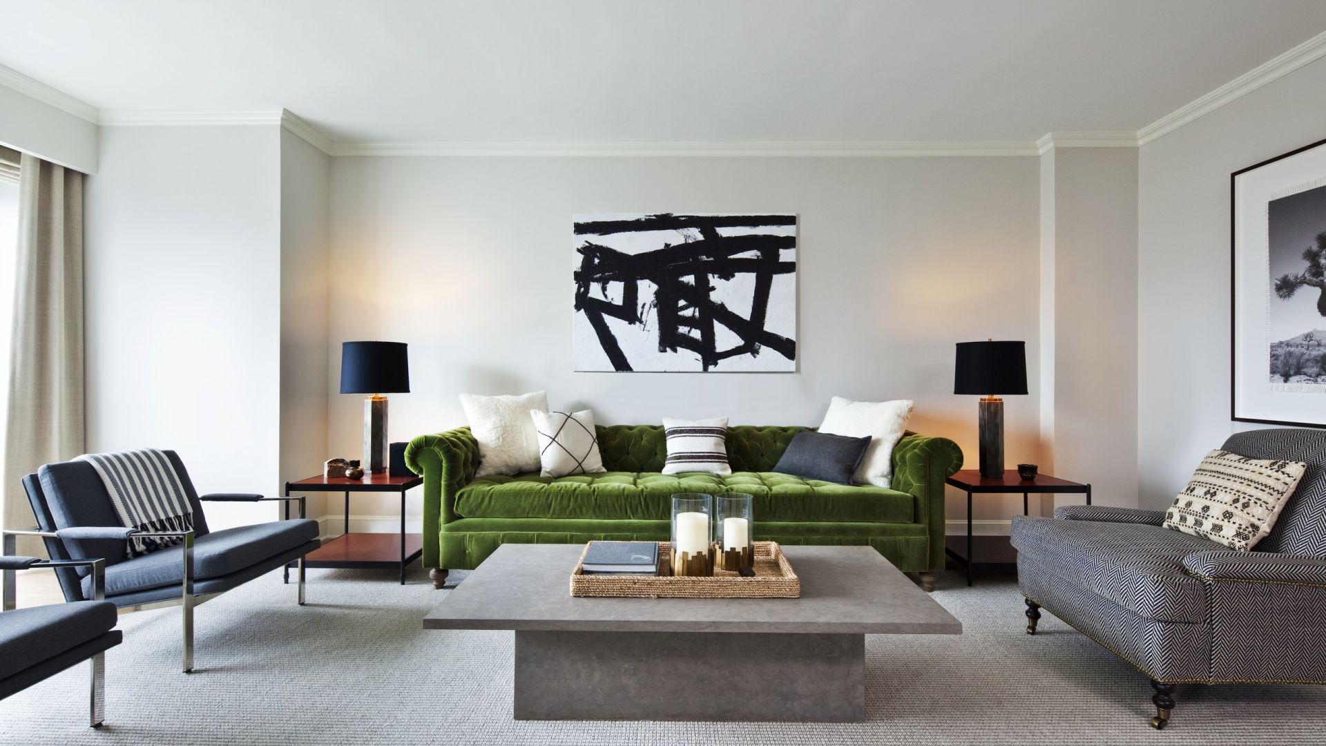 Área de estar da suíte Apartamento Nate Berkus Park Avenue | Loews Regency New York Hotel