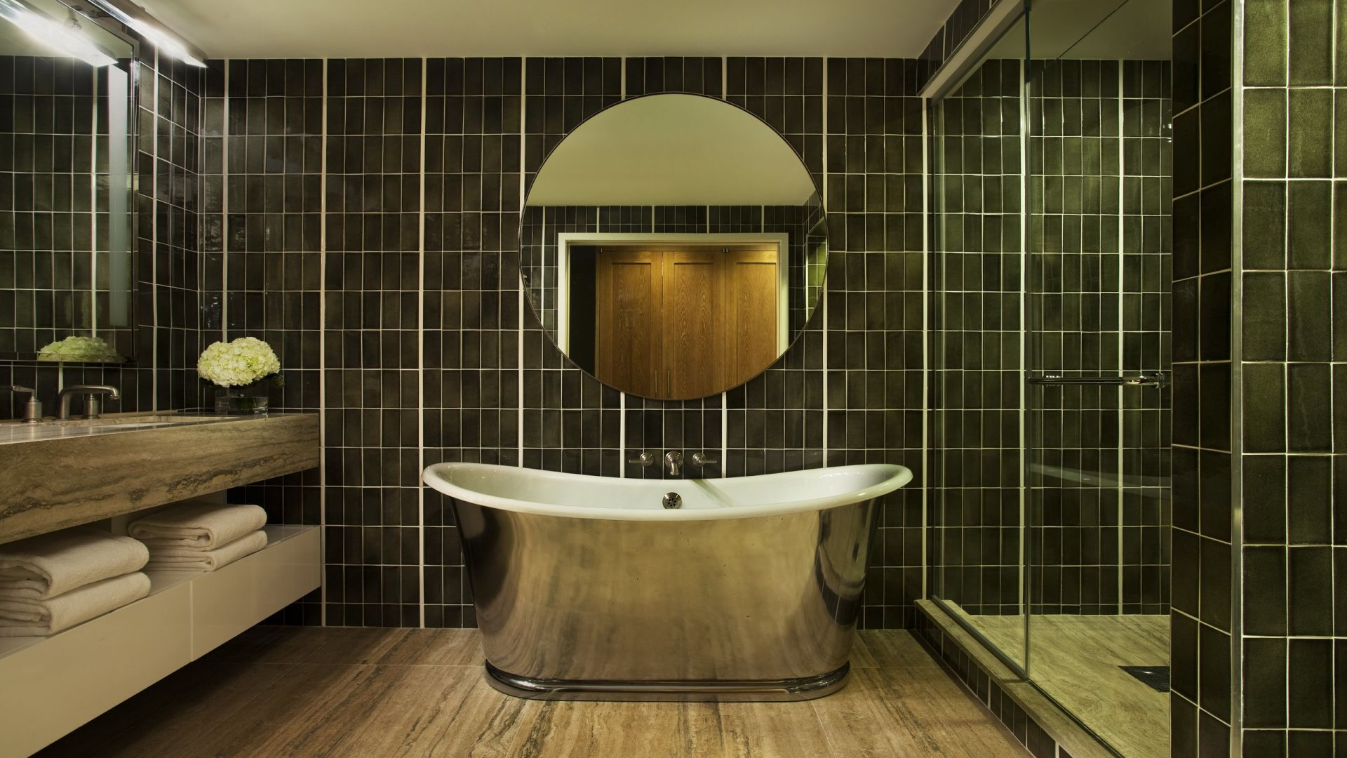 Uptown Bohemian Signature Suite Bathroom | Loews Regency New York Hotel
