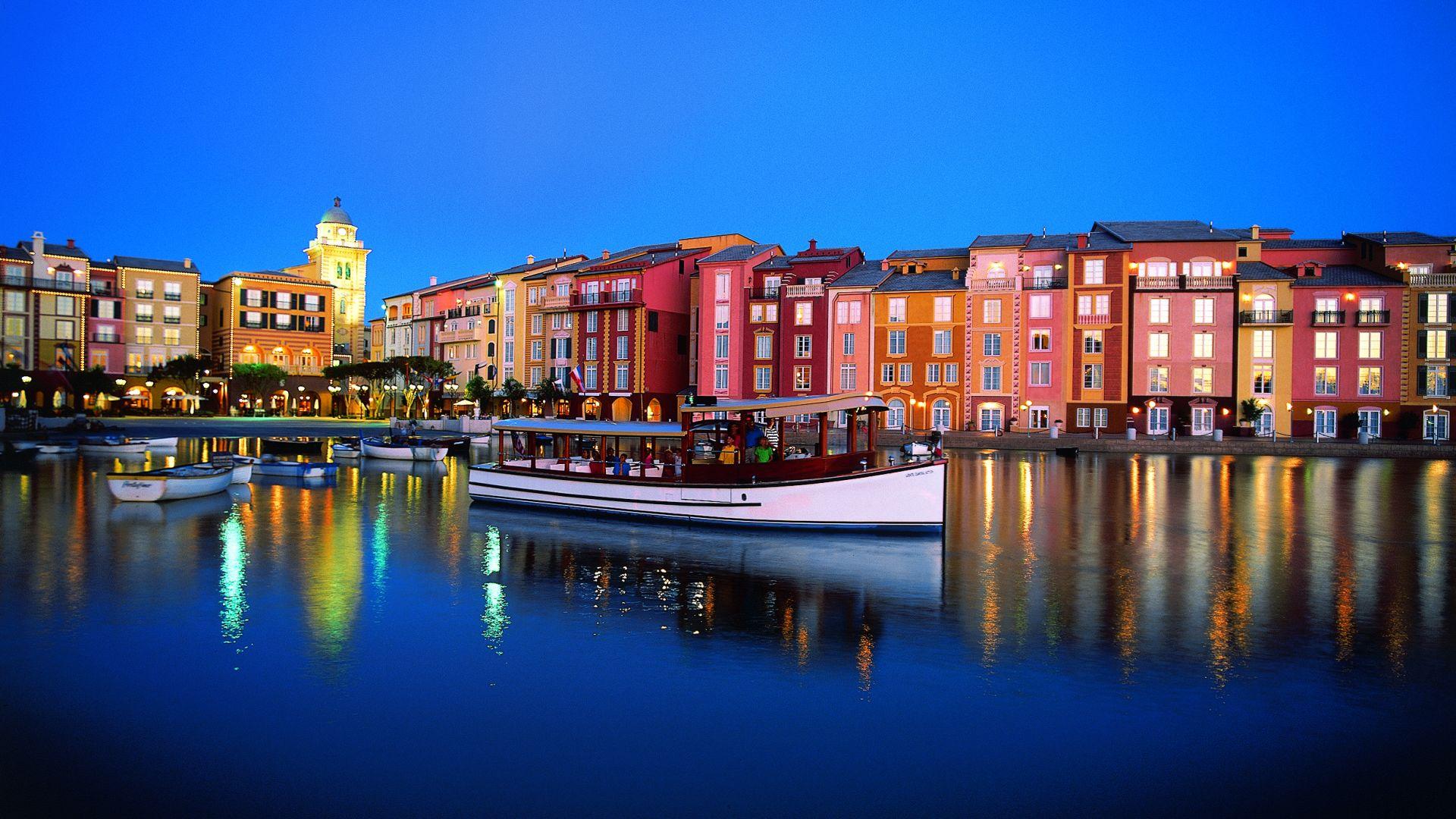 Ferry de Portofino Bay - Transporte de Universal Orlando