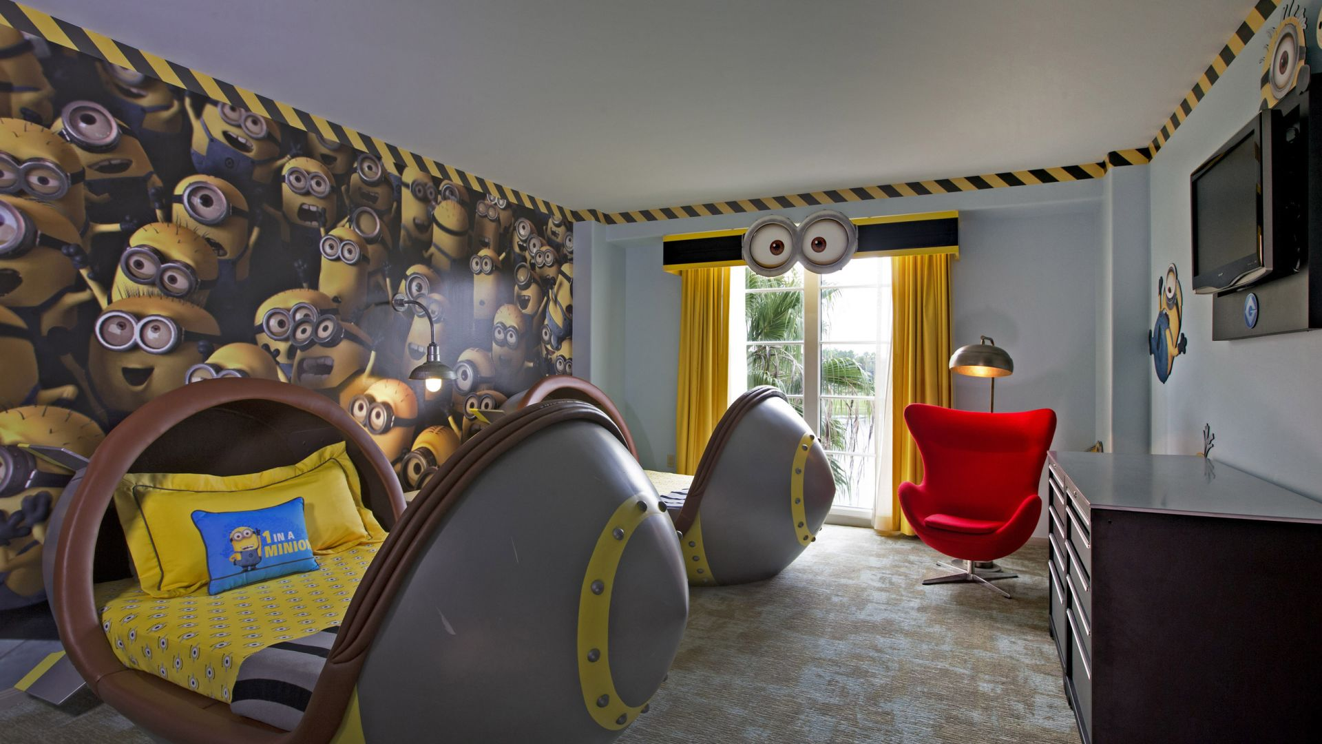 Despicable Me Kids Suites | Loews Portofino Bay Hotel | Universal Orlando