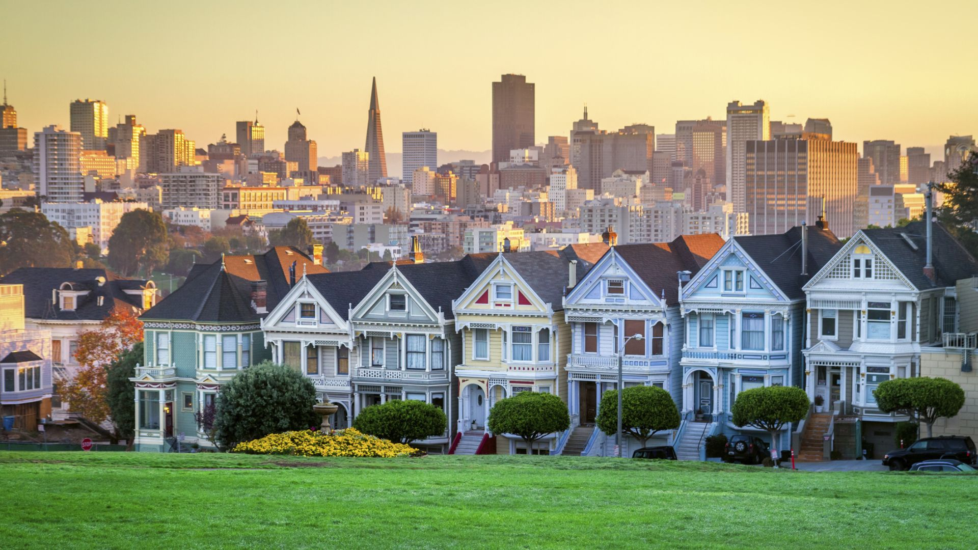 Painted Ladies houses in San Francisco