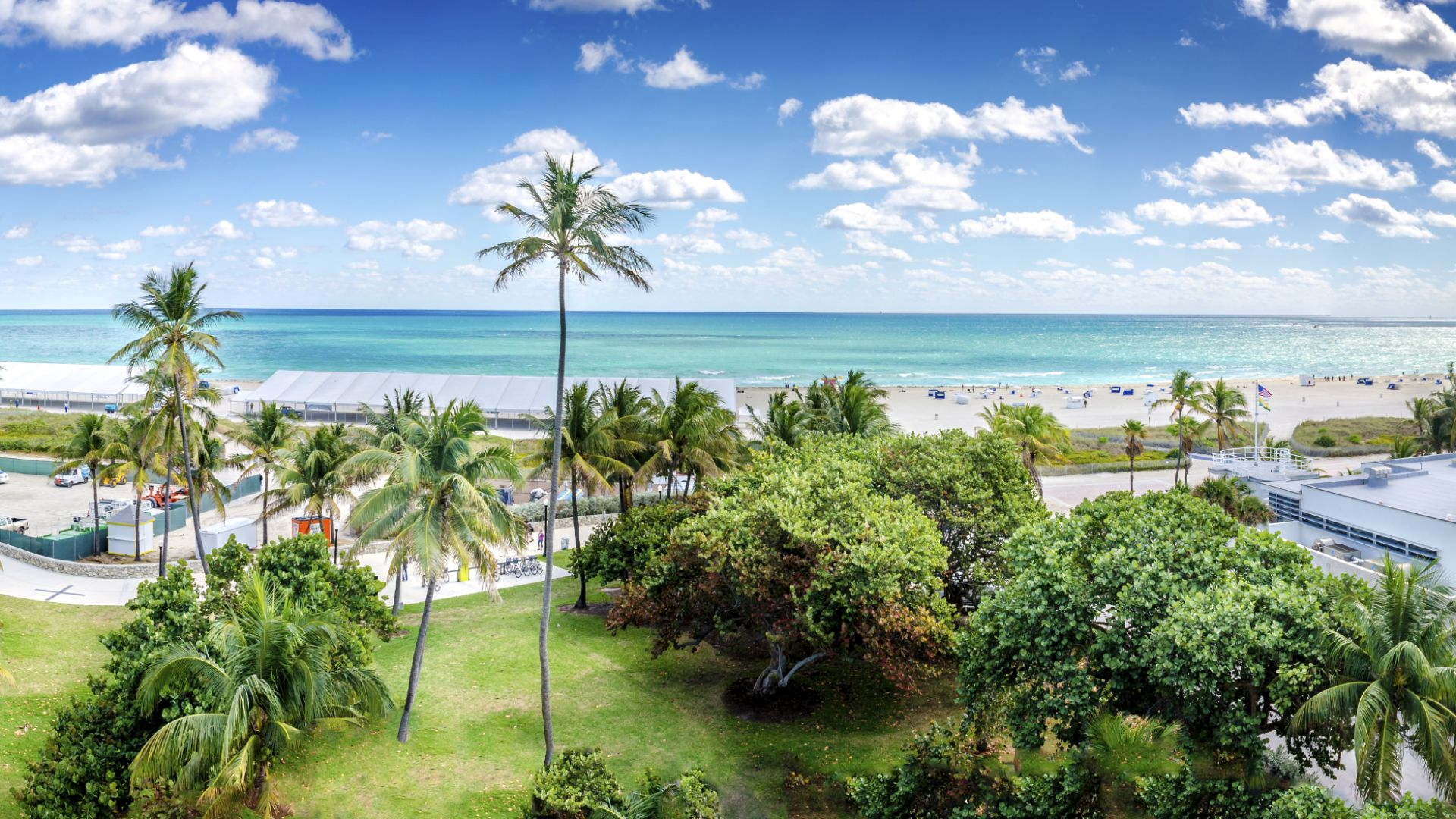 Ocean-Drive-Panorama, Miami Beach
