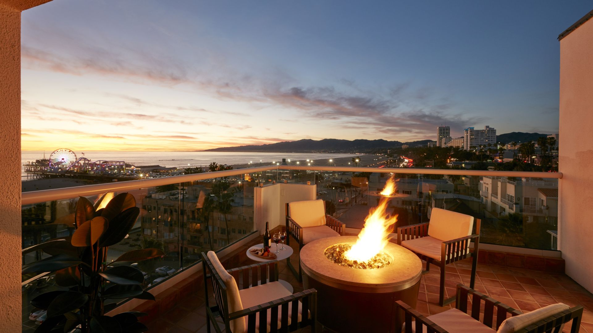 Fire Pit | Loews Santa Monica Beach Hotel