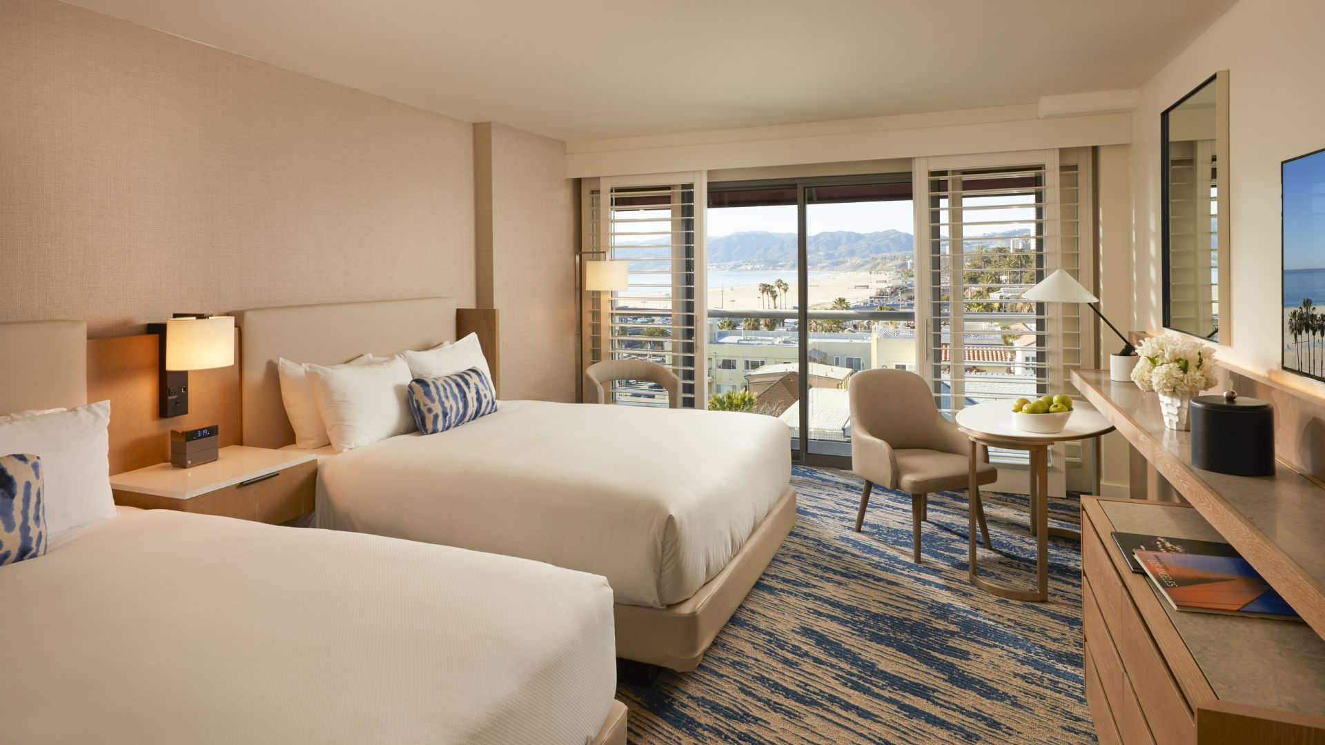 Coastal View Queens | Loews Santa Monica Beach Hotel