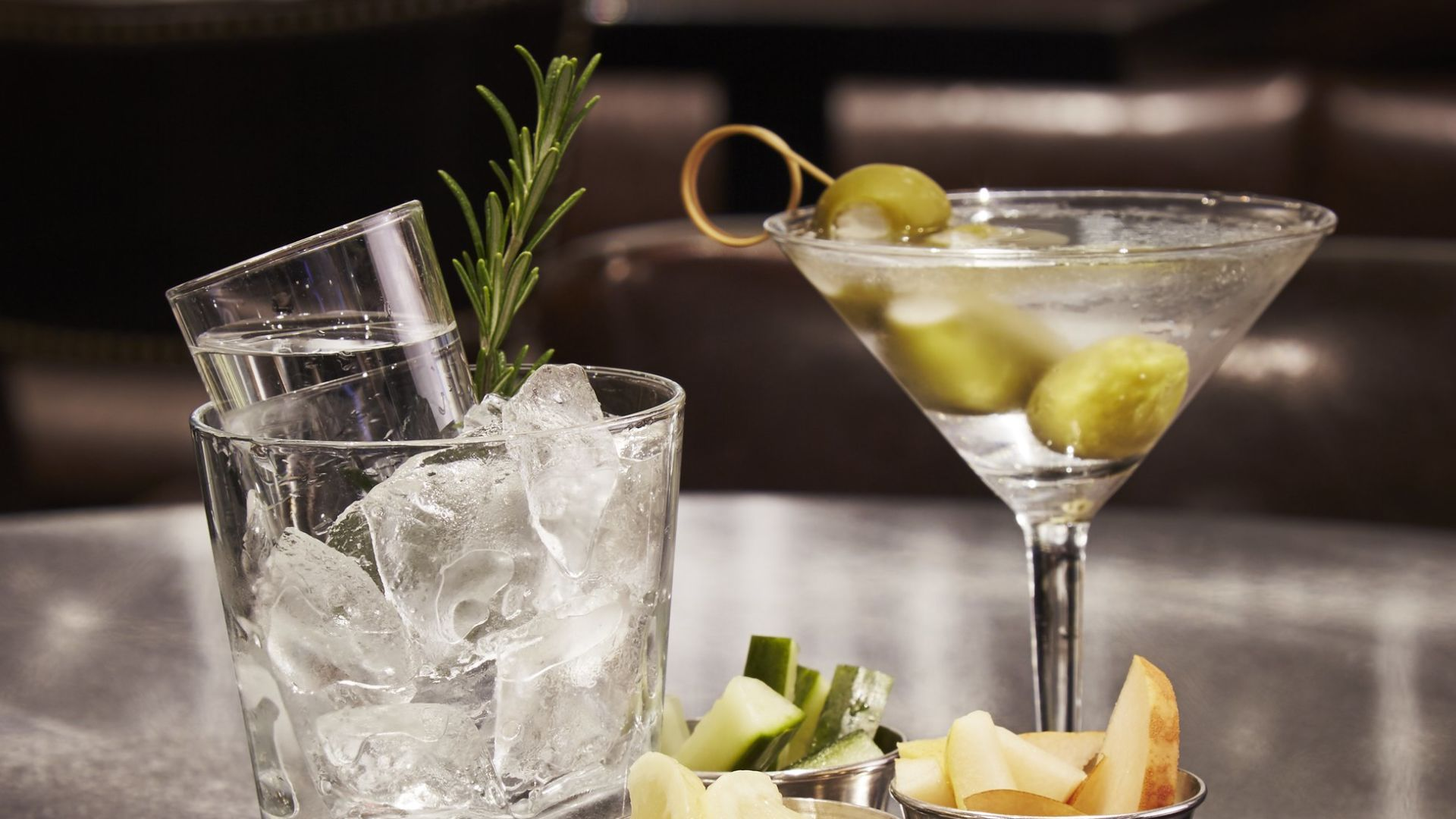 Martini de The Ashburn | Loews Chicago O'Hare Hotel