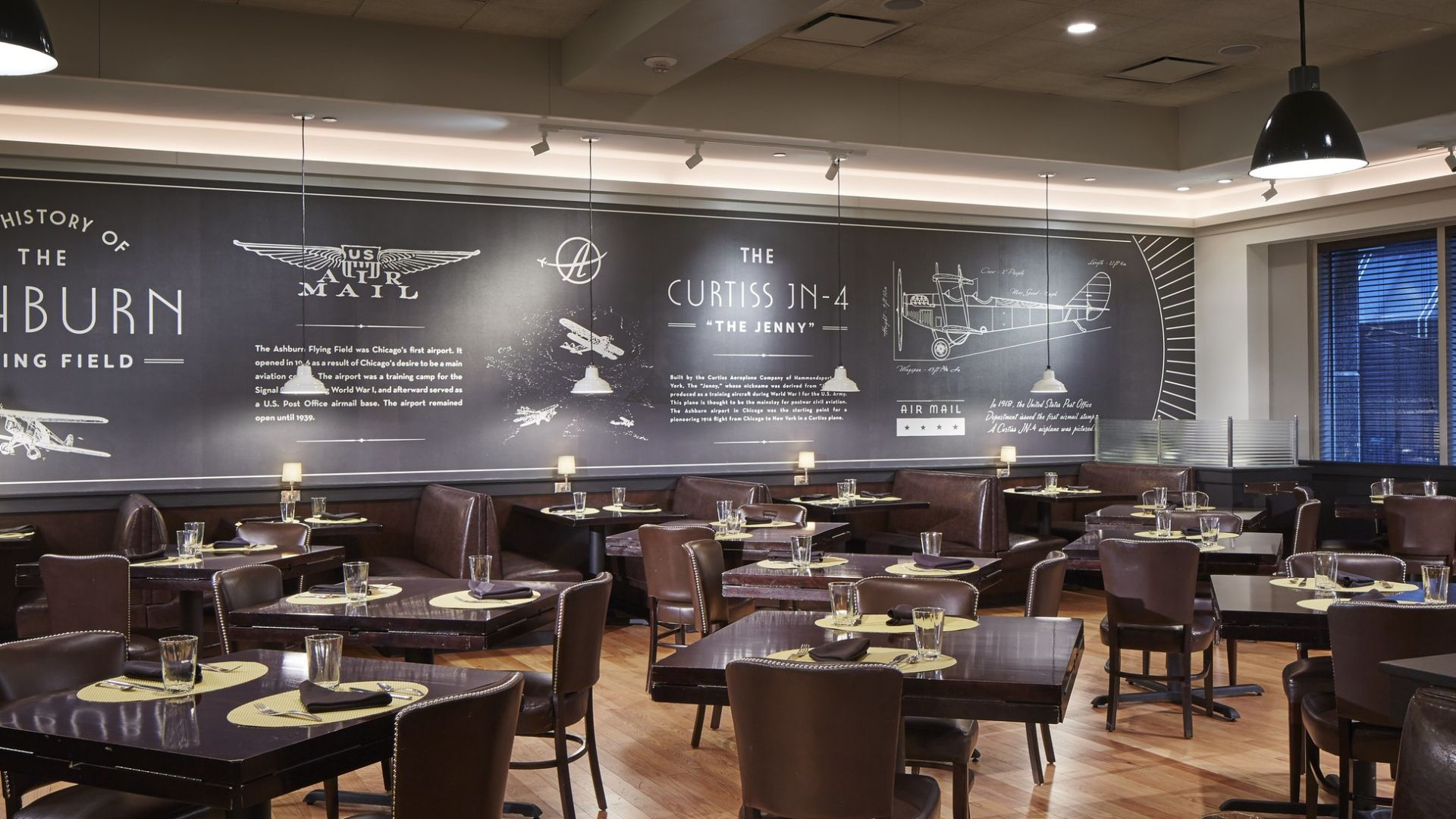 The Ashburn Private Dining | Loews Chicago O'Hare Hotel