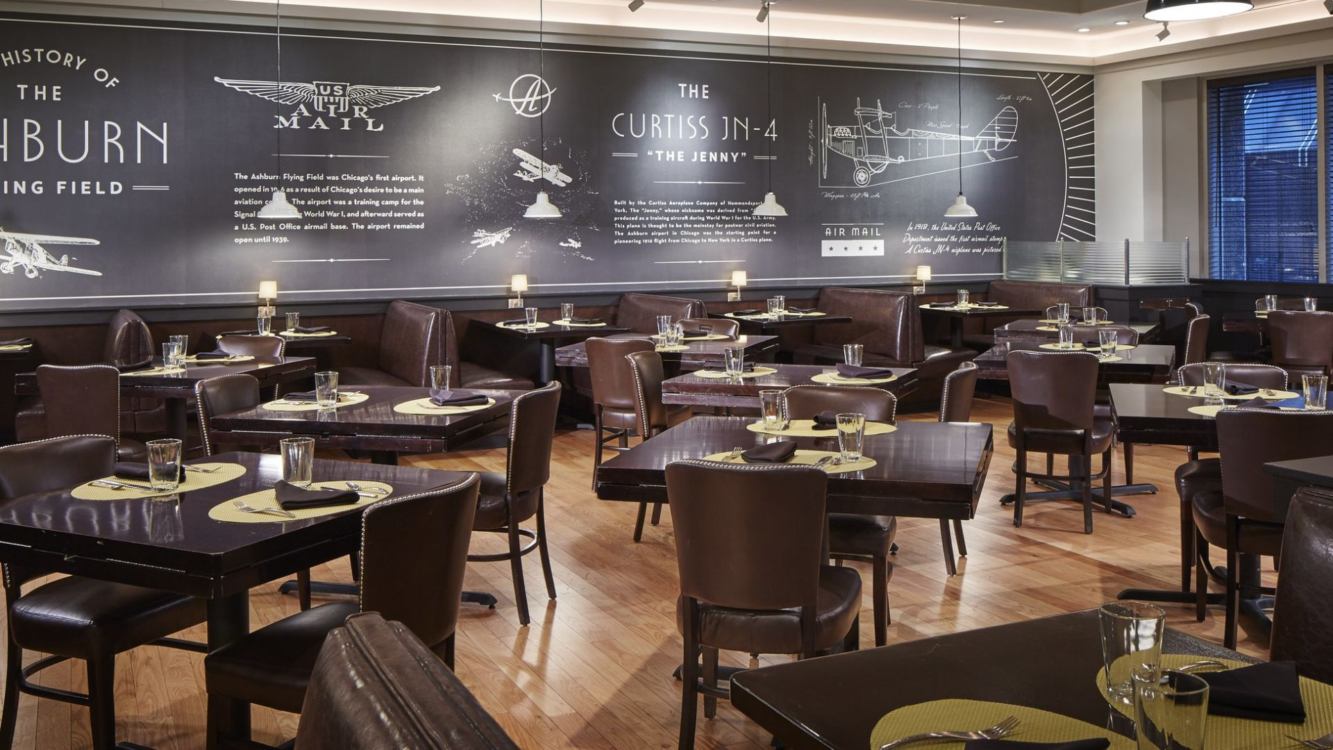 Comedor privado de The Ashburn | Loews Chicago O'Hare Hotel
