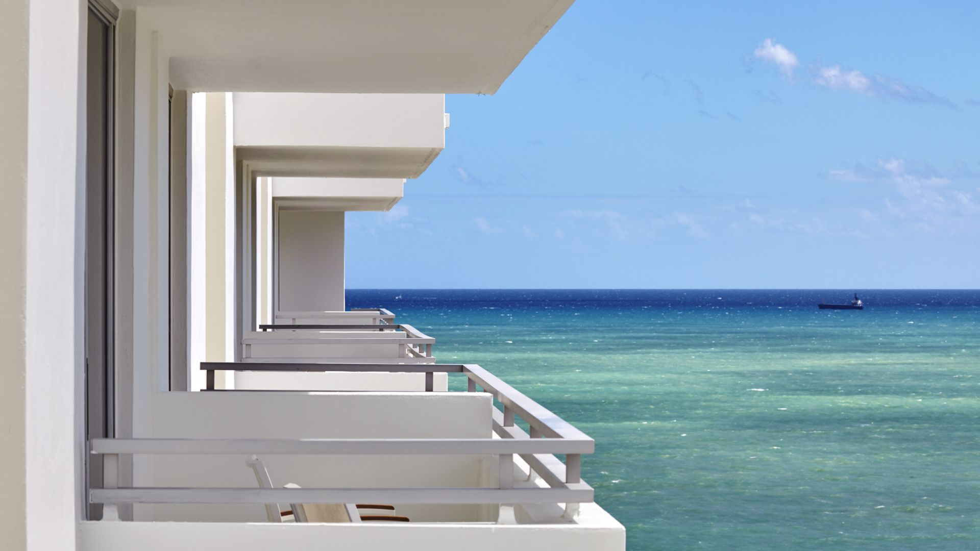 Vue du balcon | Loews Miami Beach Hotel
