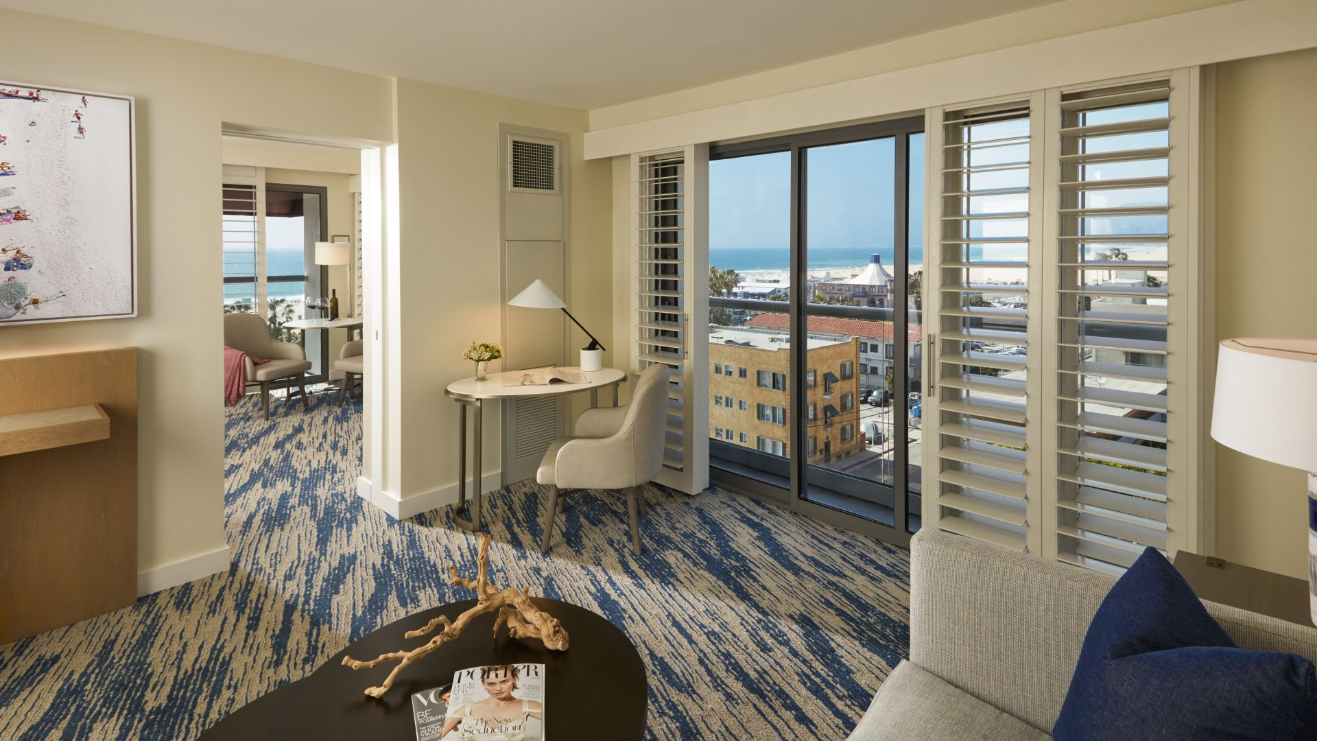Ocean View King Suite | Loews Santa Monica Beach Hotel