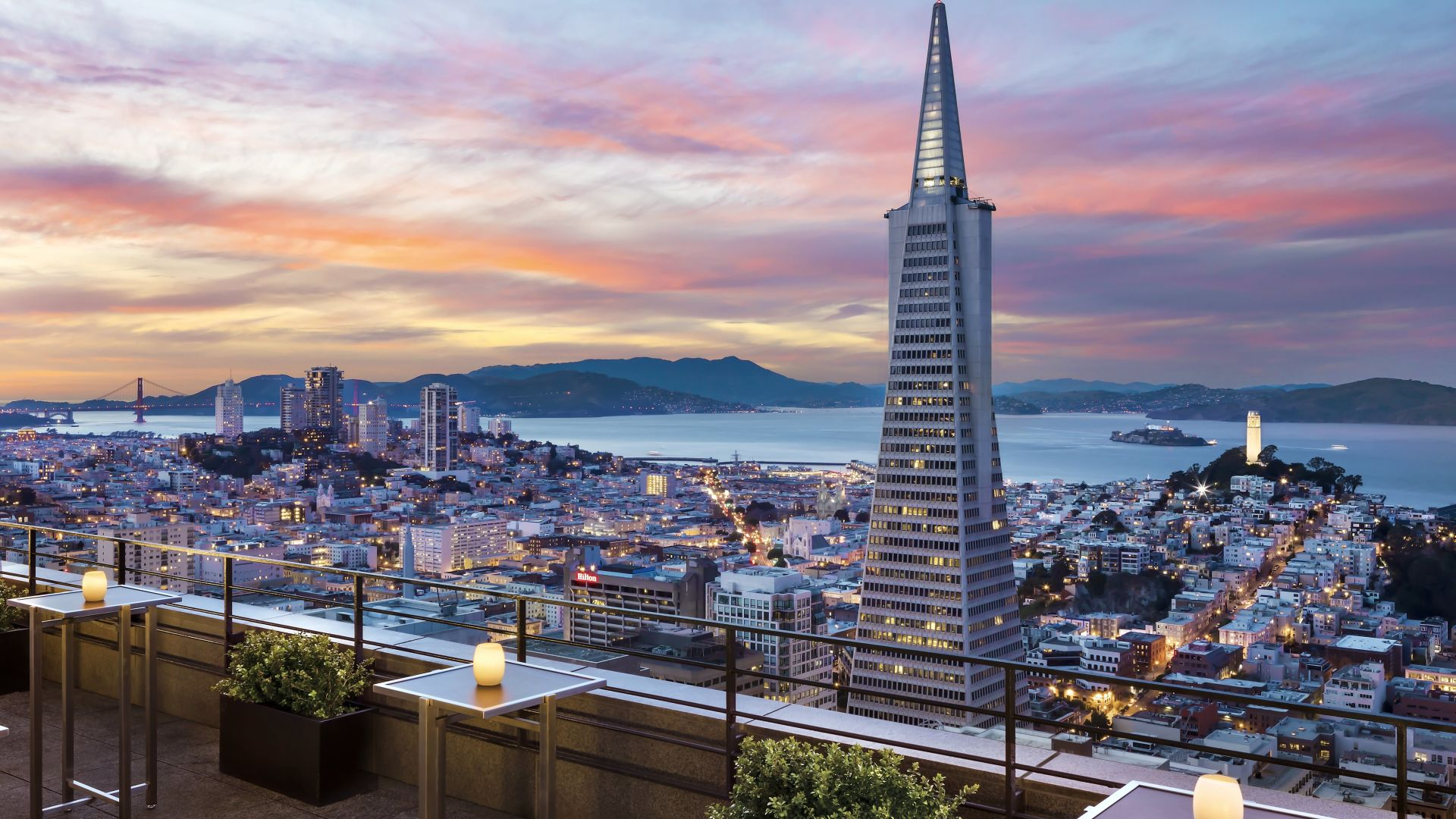 Skydeck Bay View | Loews Regency San Francisco Hotel