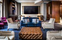 Loews Boston Hotel - Pared de video de Apothecary