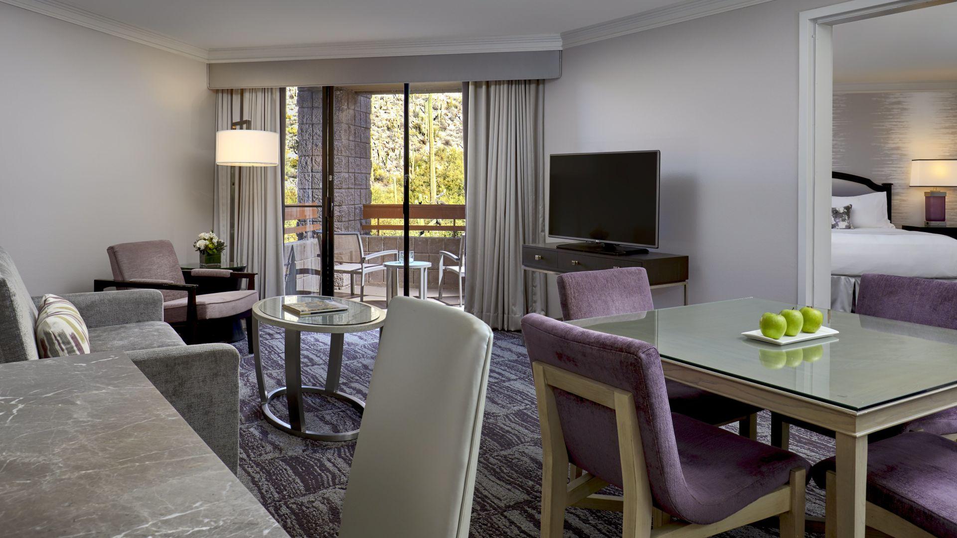 Habitación de huéspedes | Loews Ventana Canyon Resort