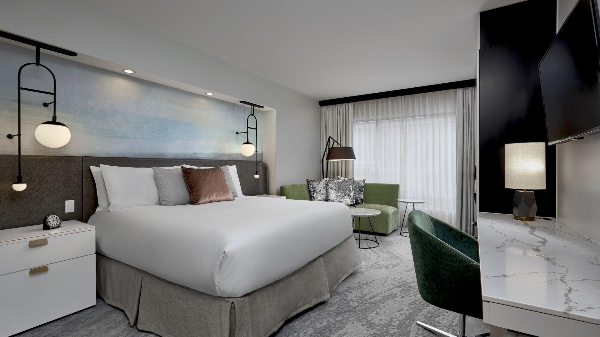 Habitación de huéspedes | Loews Hotel 1000