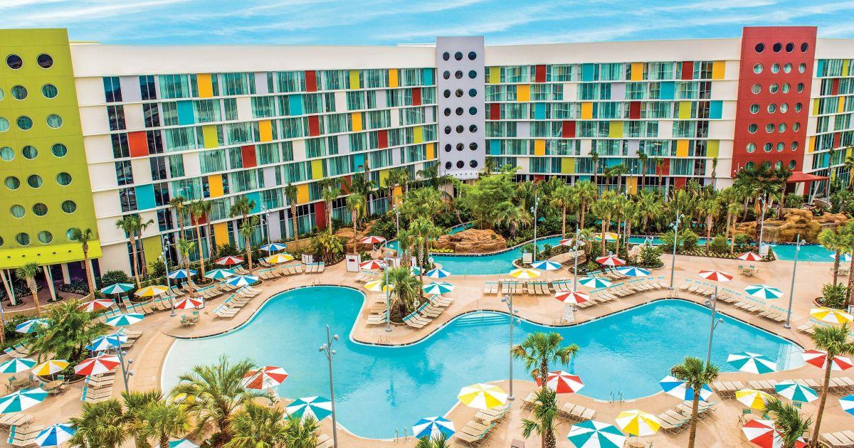 Cabana Bay Beach Resort |Universal Studios Orlando Resort | Orlando