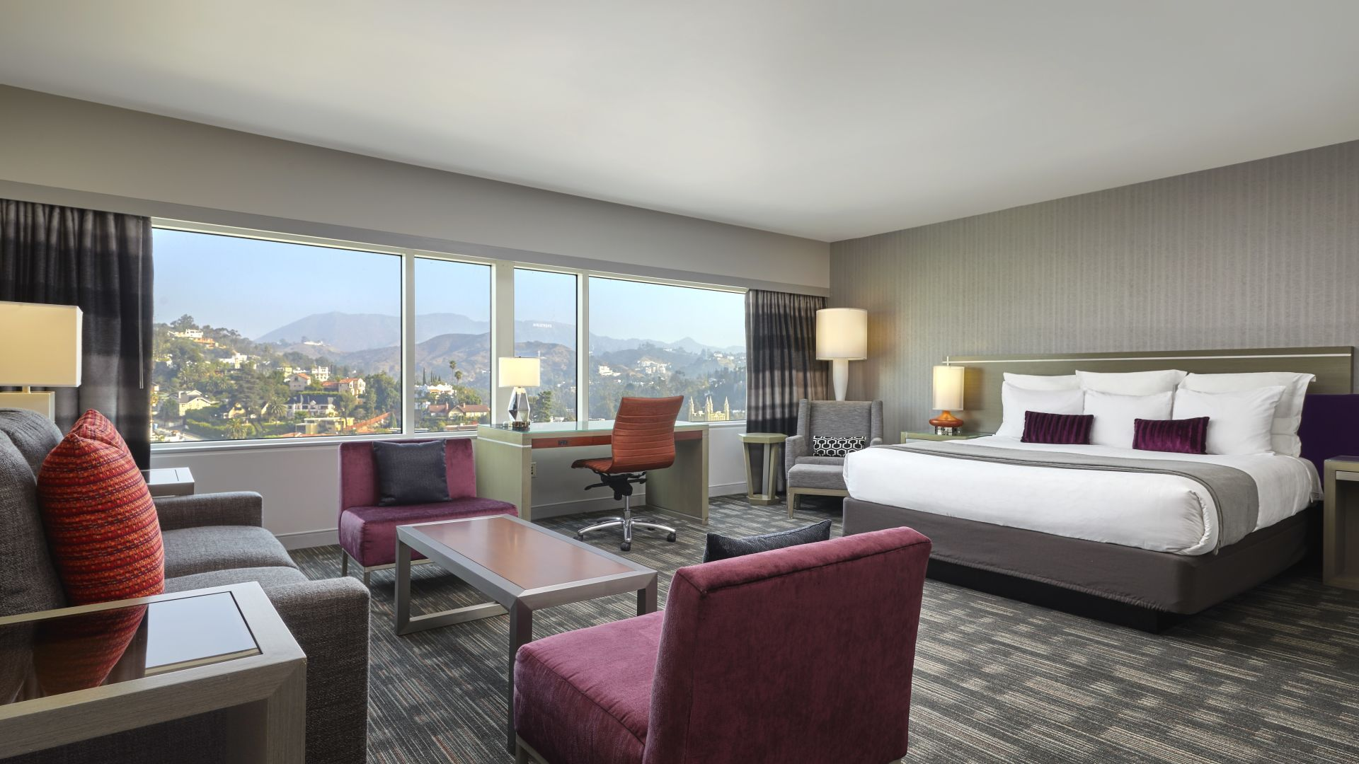 Studio King Suite | Loews Hollywood Hotel